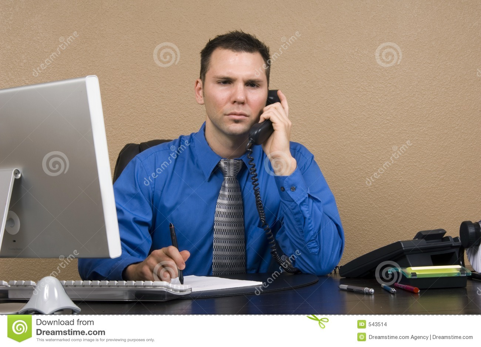 Download 商业他的人办公室 库存照片. 图片 包括有 工作, 交谈, 关系, 商业, 白种人, 计划, 电话, 执行委员 - 543514