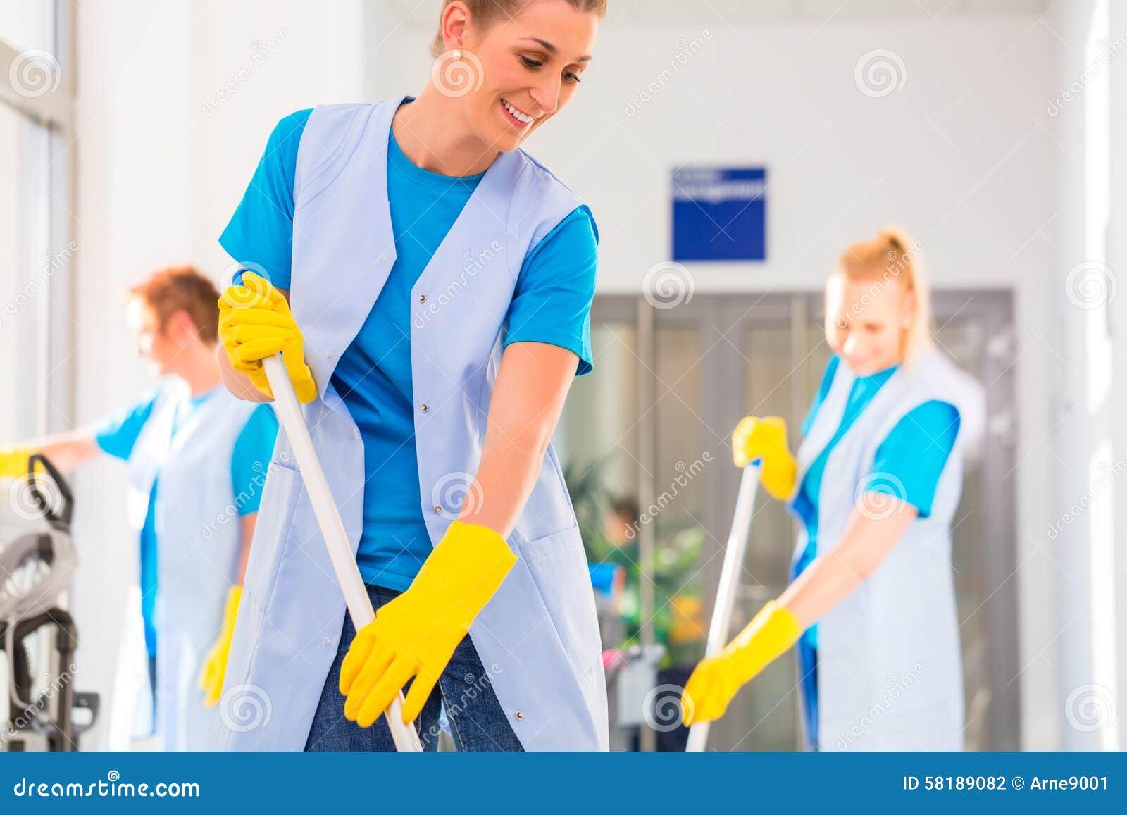 商业清洁旅团工作