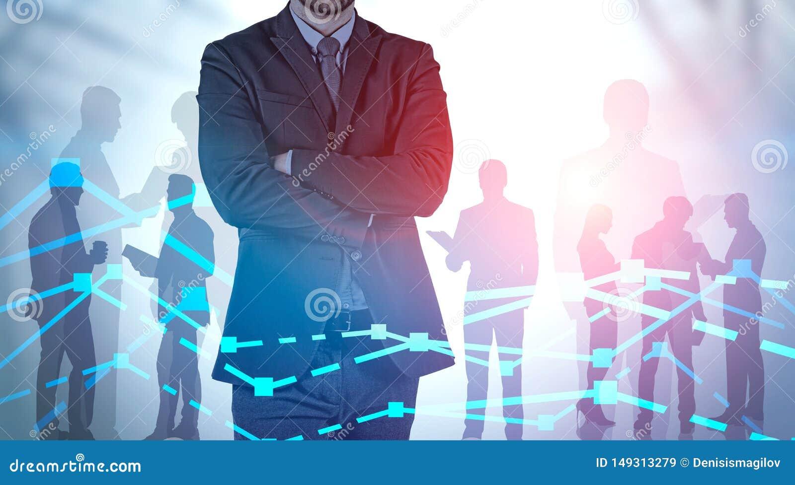 商业领袖和队金融市场分析