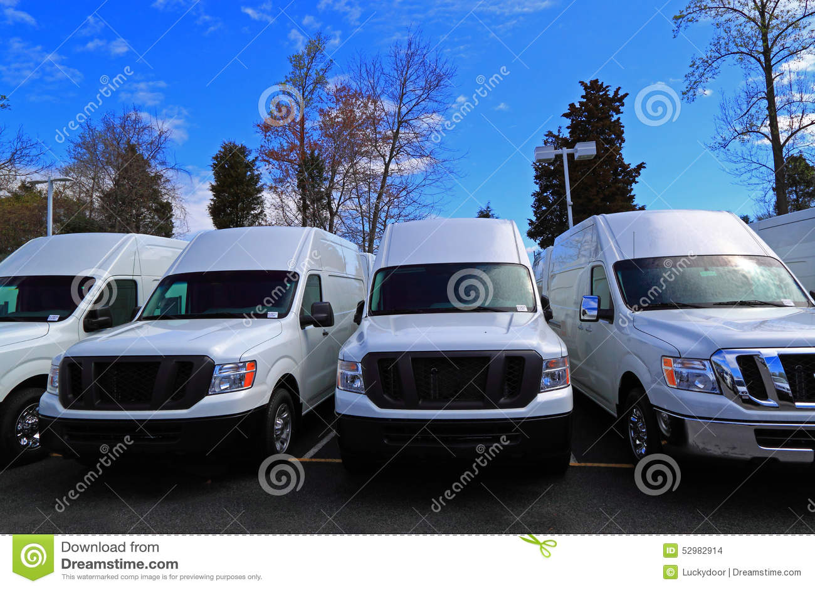 商业货物卡车