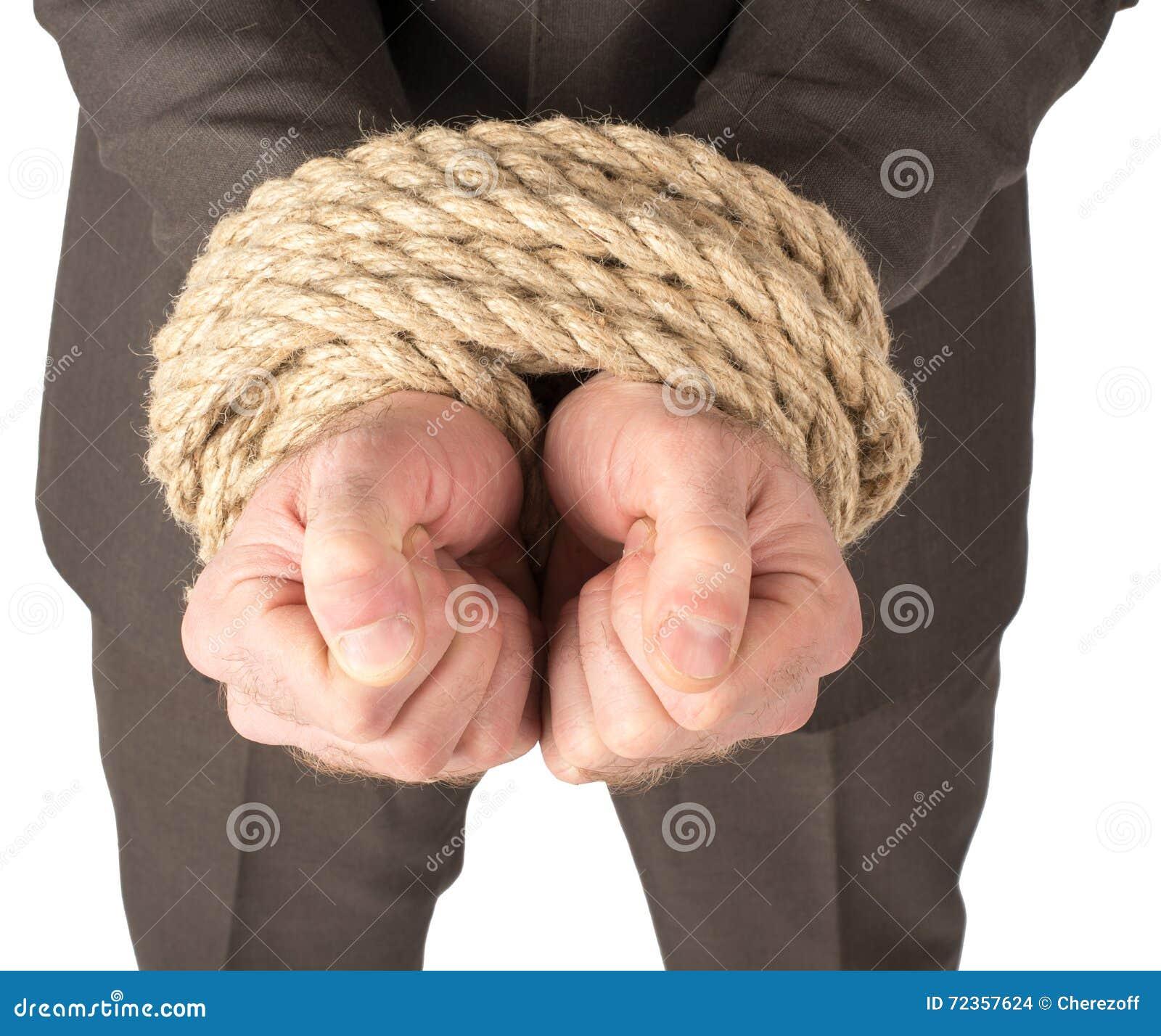 商人一定与绳索