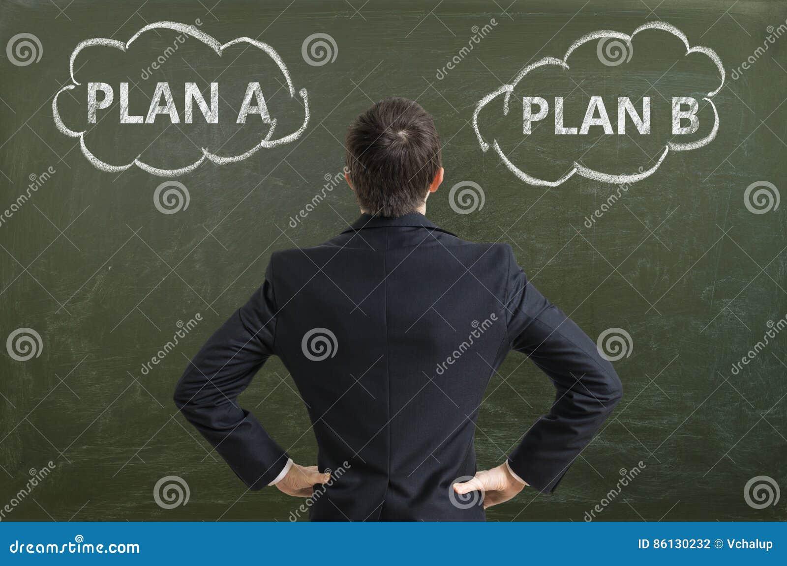 商人做出决定并且选择最佳的经营战略