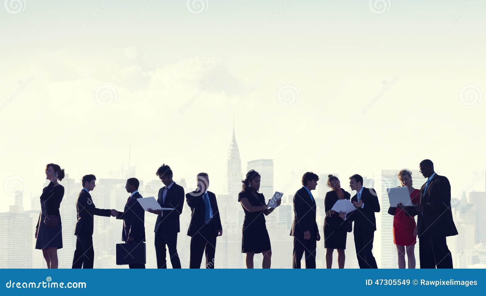 商人合作队配合专家概念