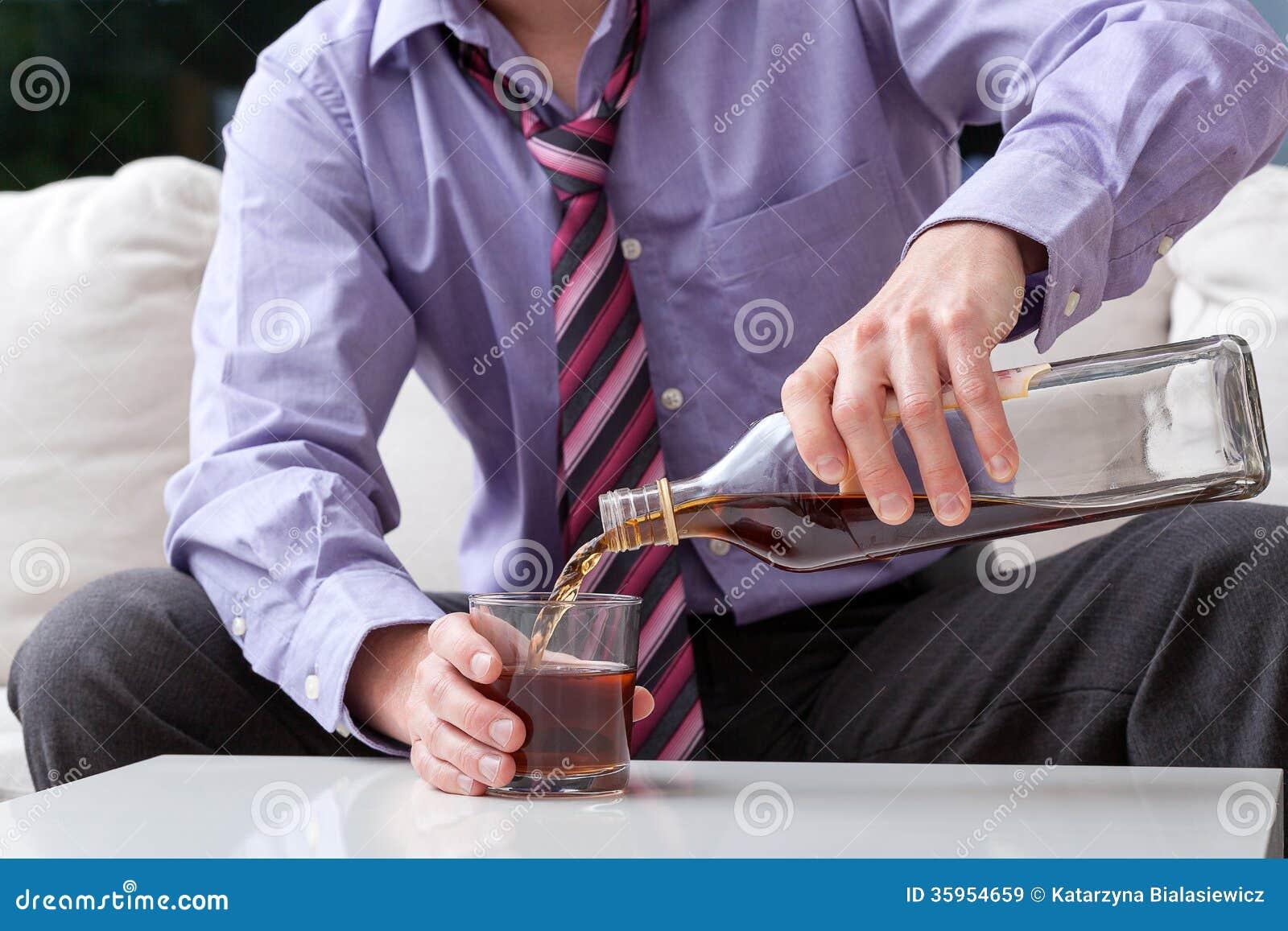 商人和酒精中毒