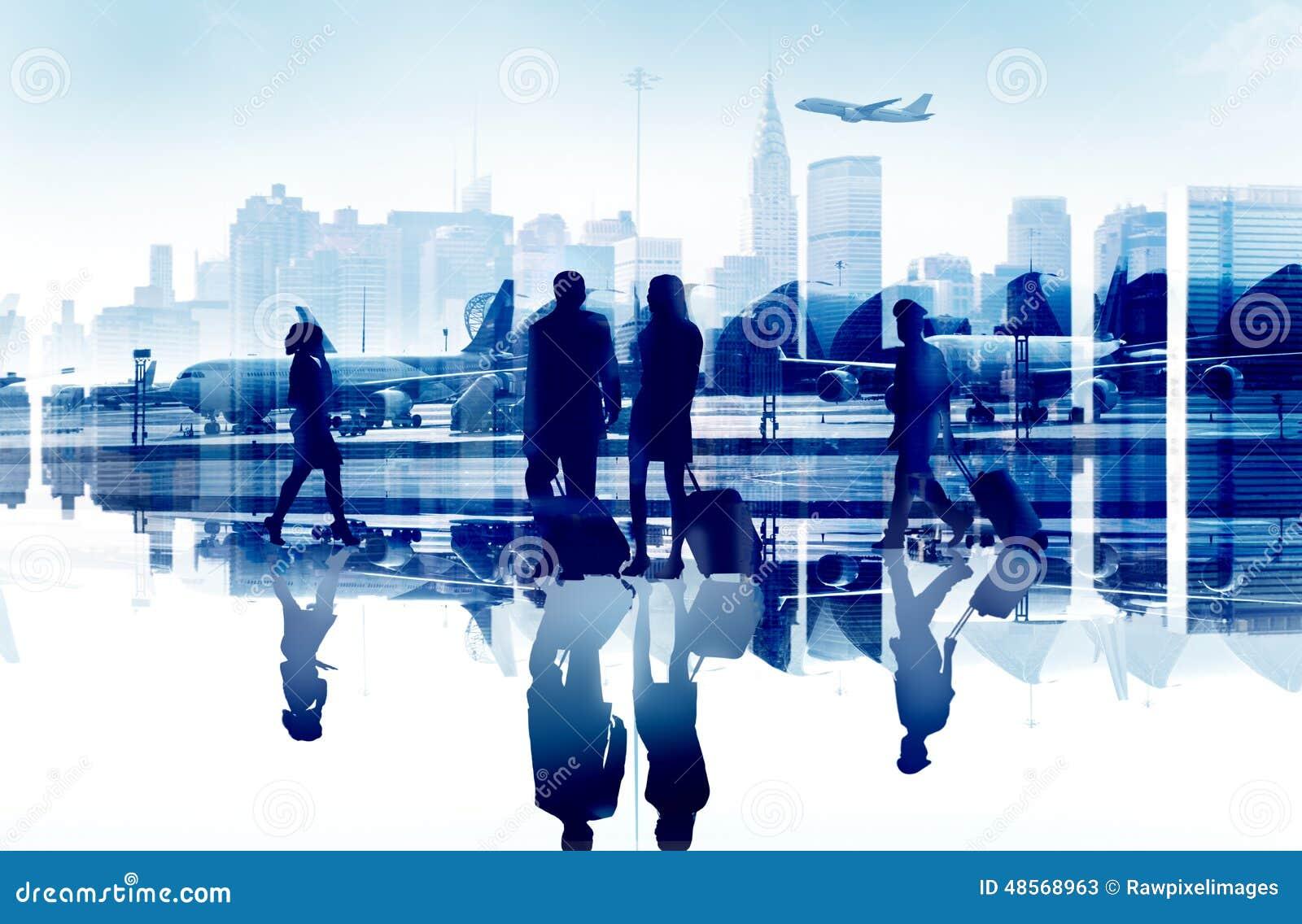 商人旅行公司机场客运枢纽站Conce
