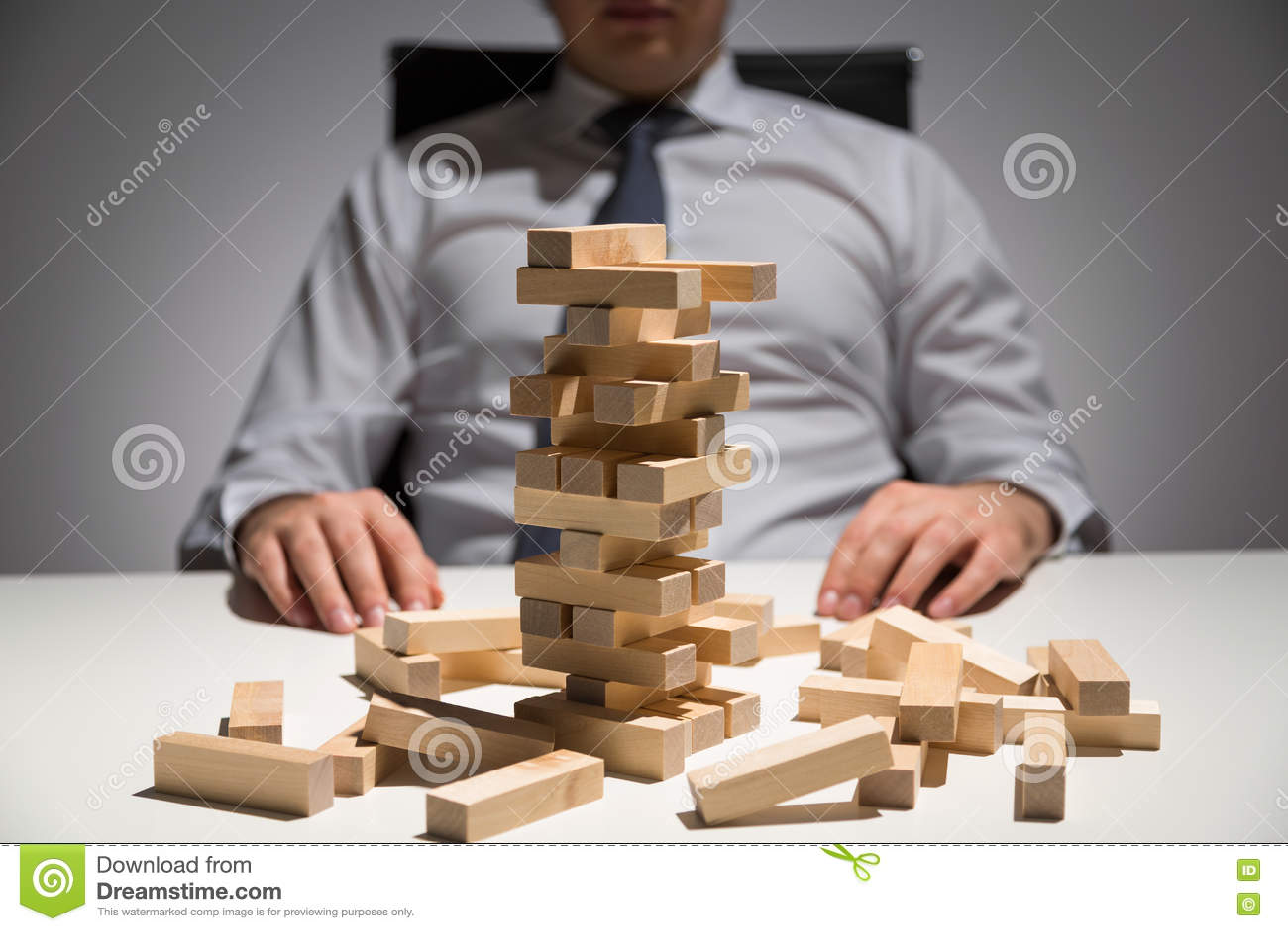 商人木块书桌