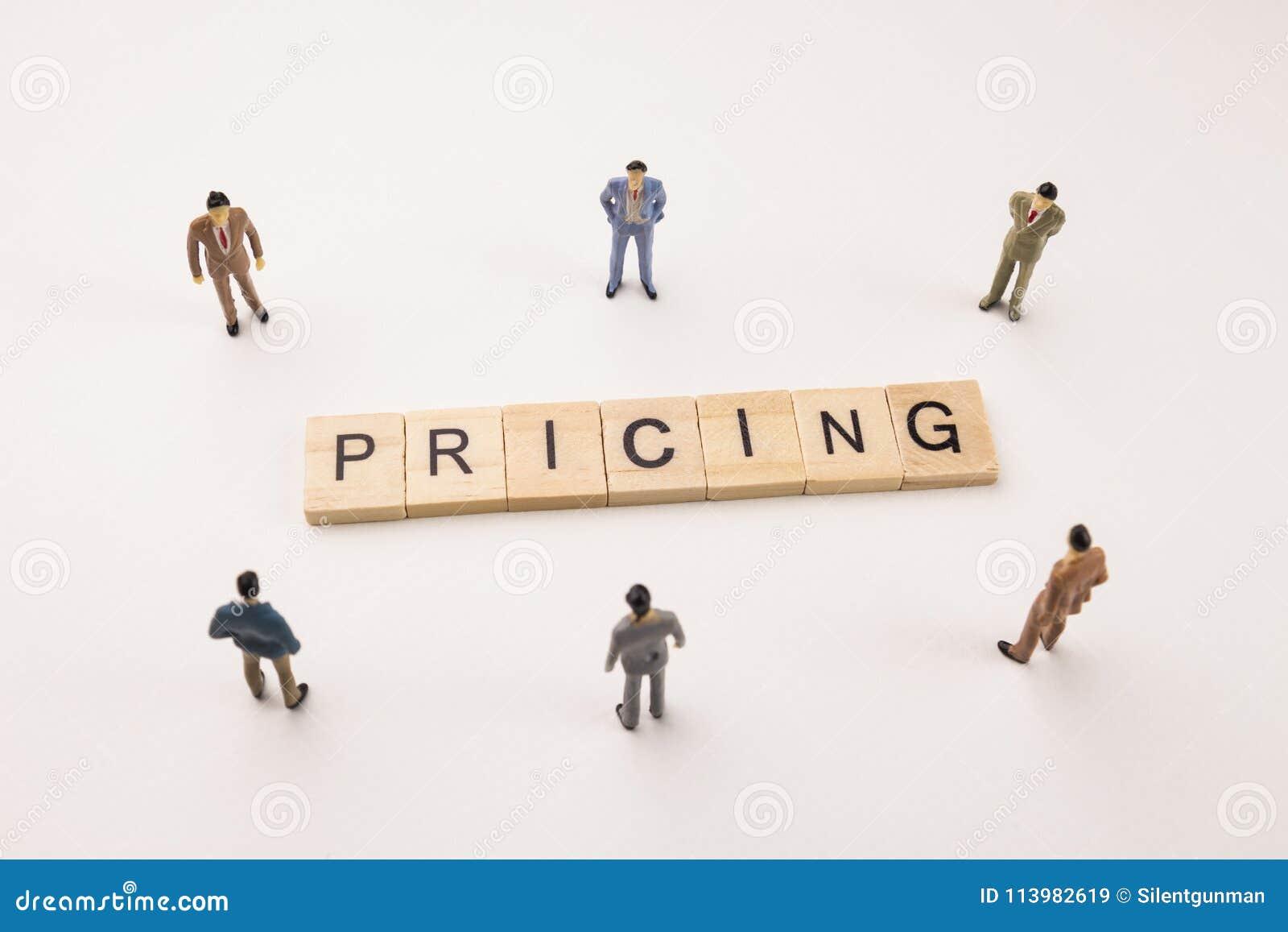 商人计算关于定价的会议概念性