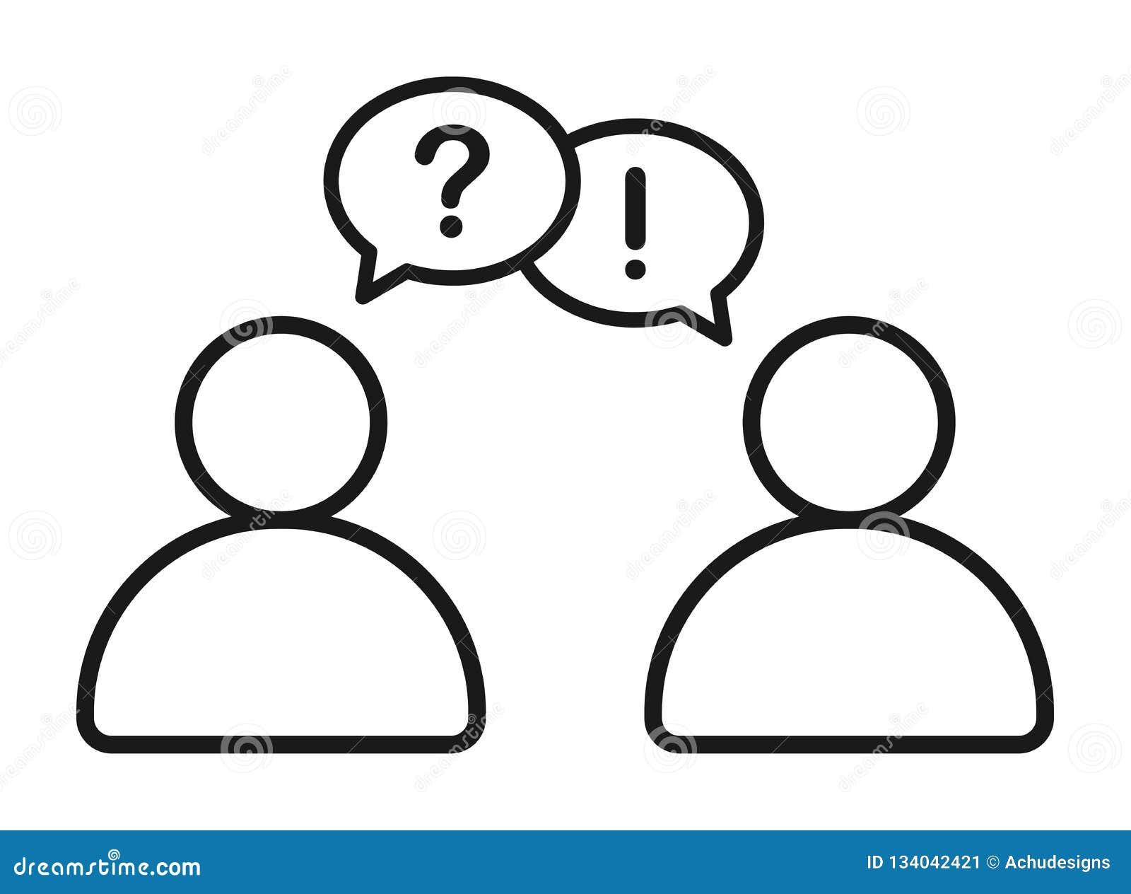商人谈话与问答信息象