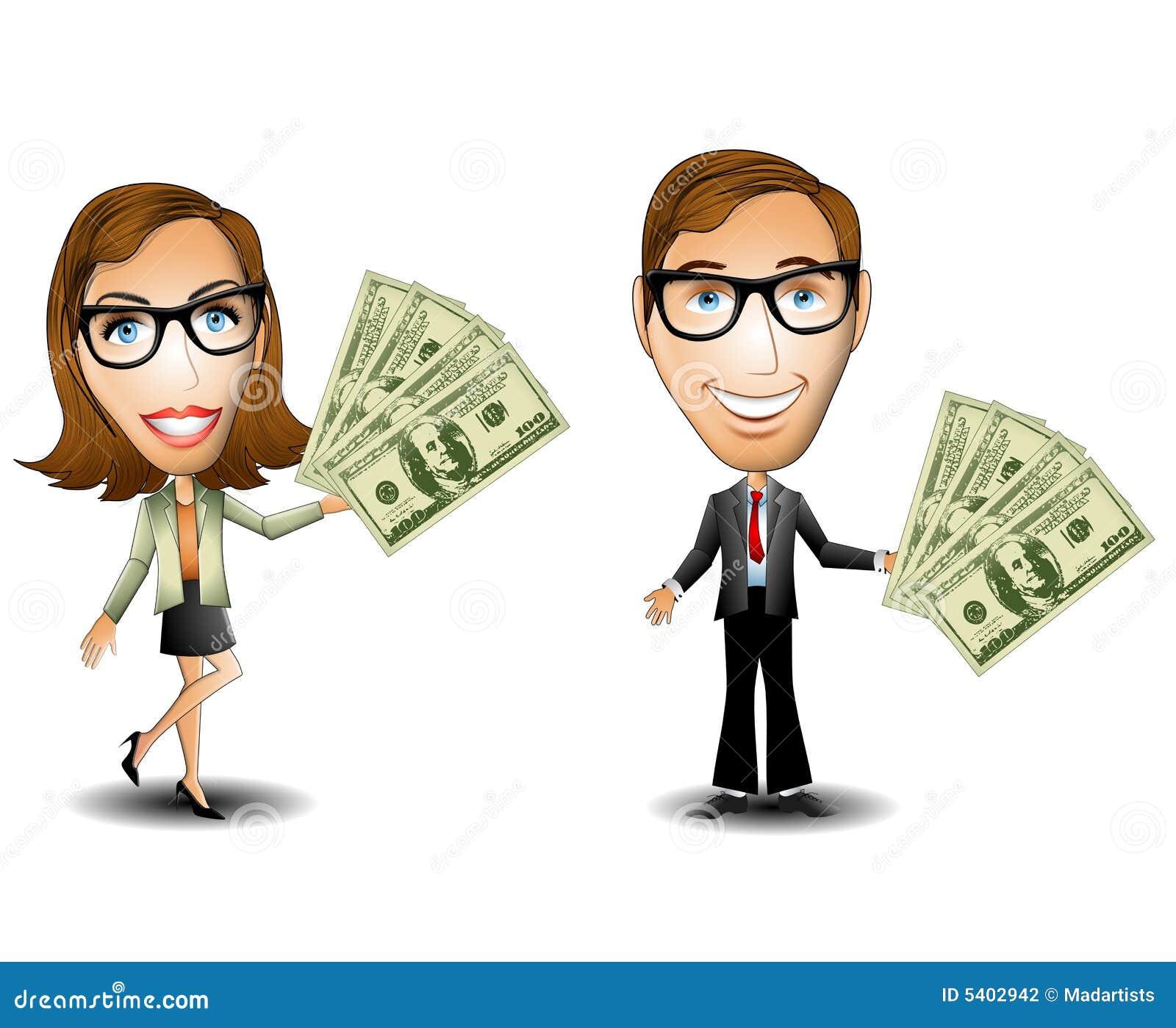 商人货币妇女