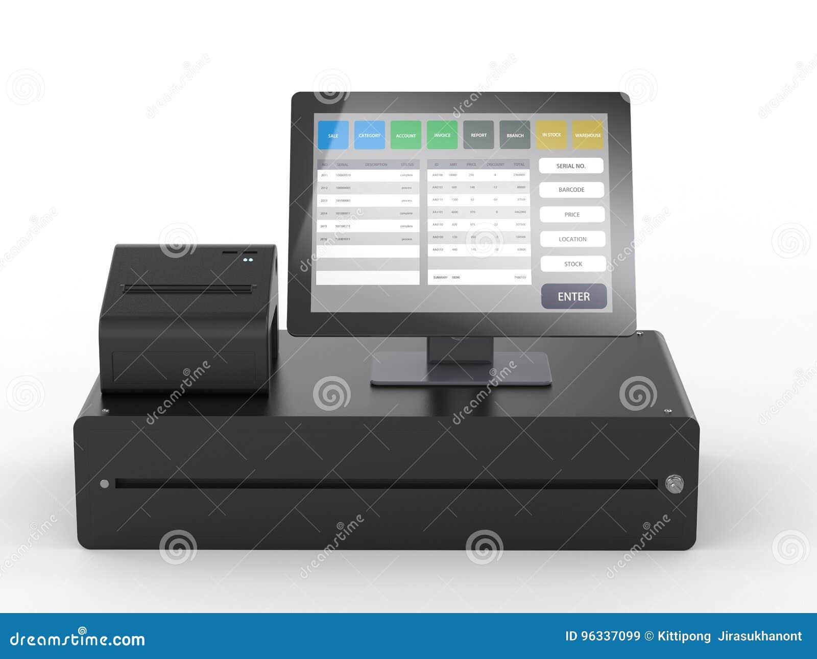 商店管理的销售点系统