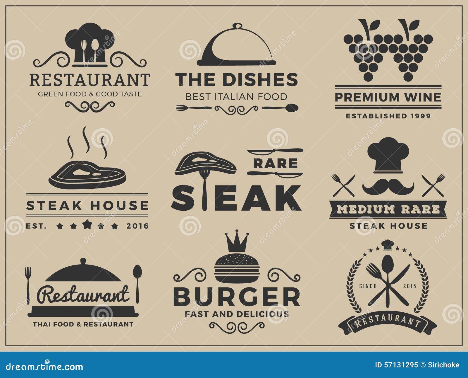 商标餐馆的,牛排餐厅权威设计