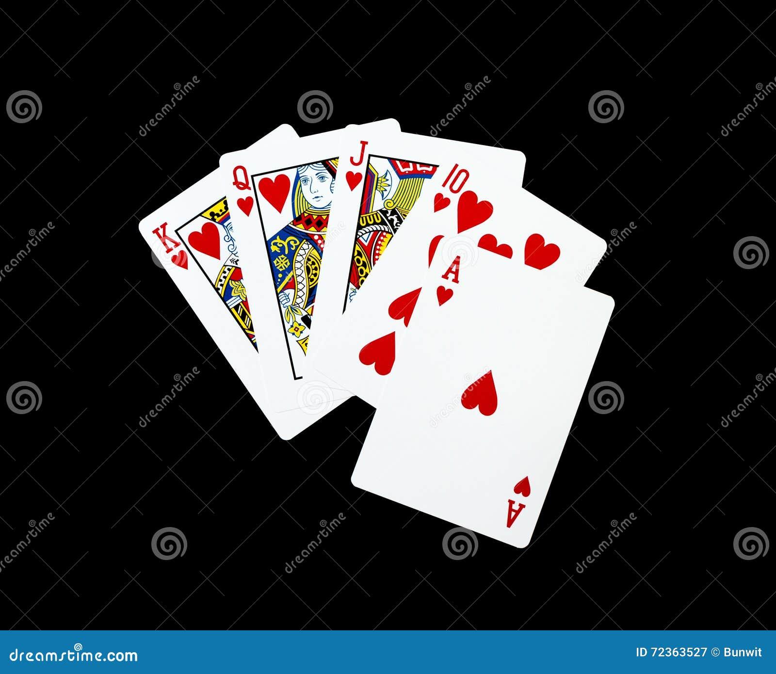 啤牌卡片,皇家闪光