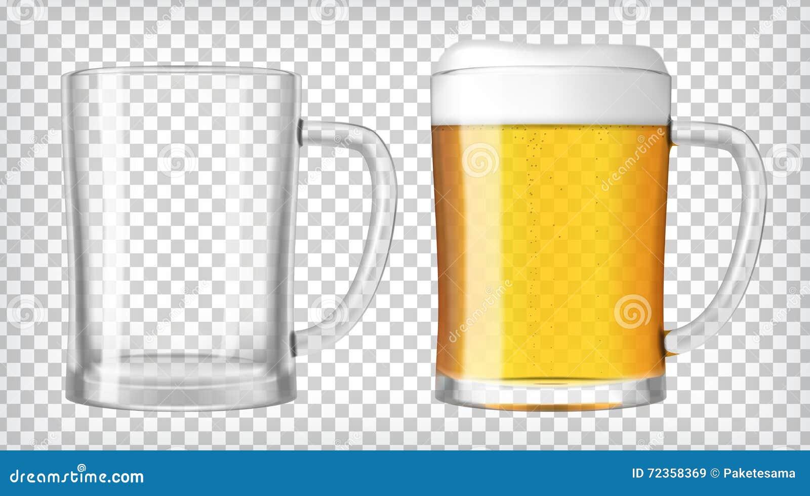 啤酒生了泡沫充分的玻璃玻璃一二
