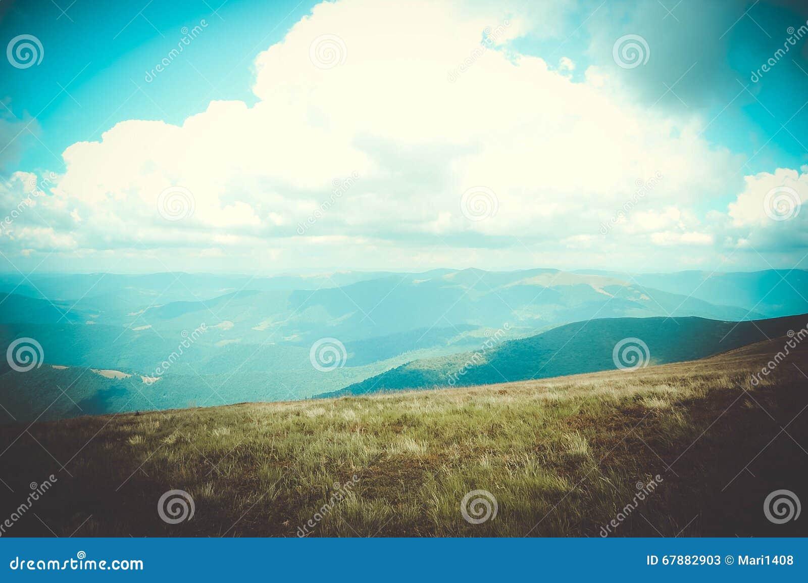 喀尔巴阡山脉风景