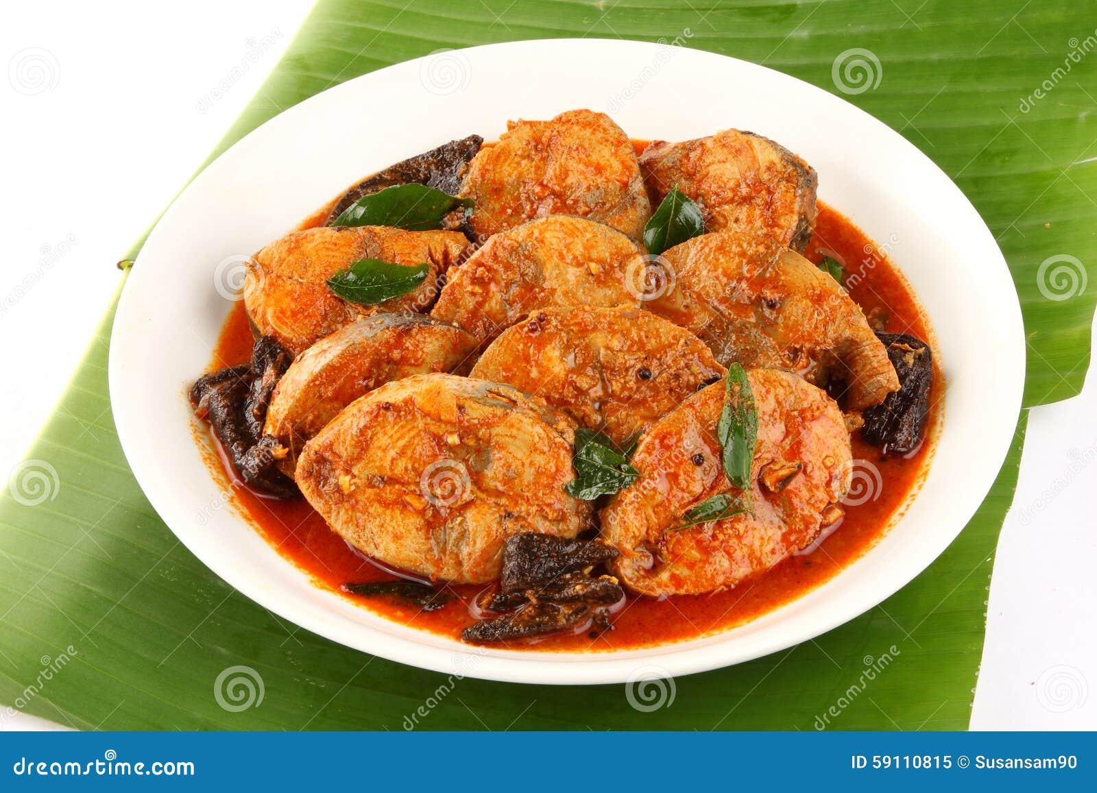 喀拉拉烹调辣鱼咖喱板材
