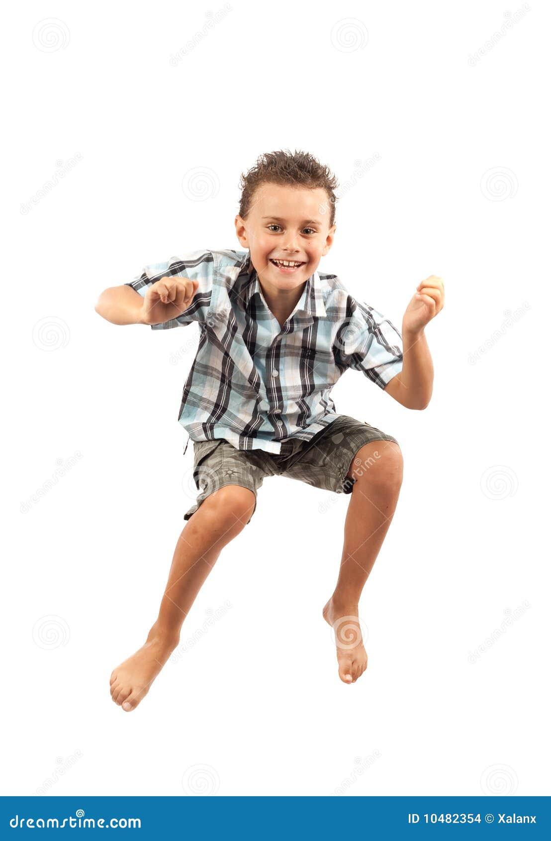 喜悦跳的孩子