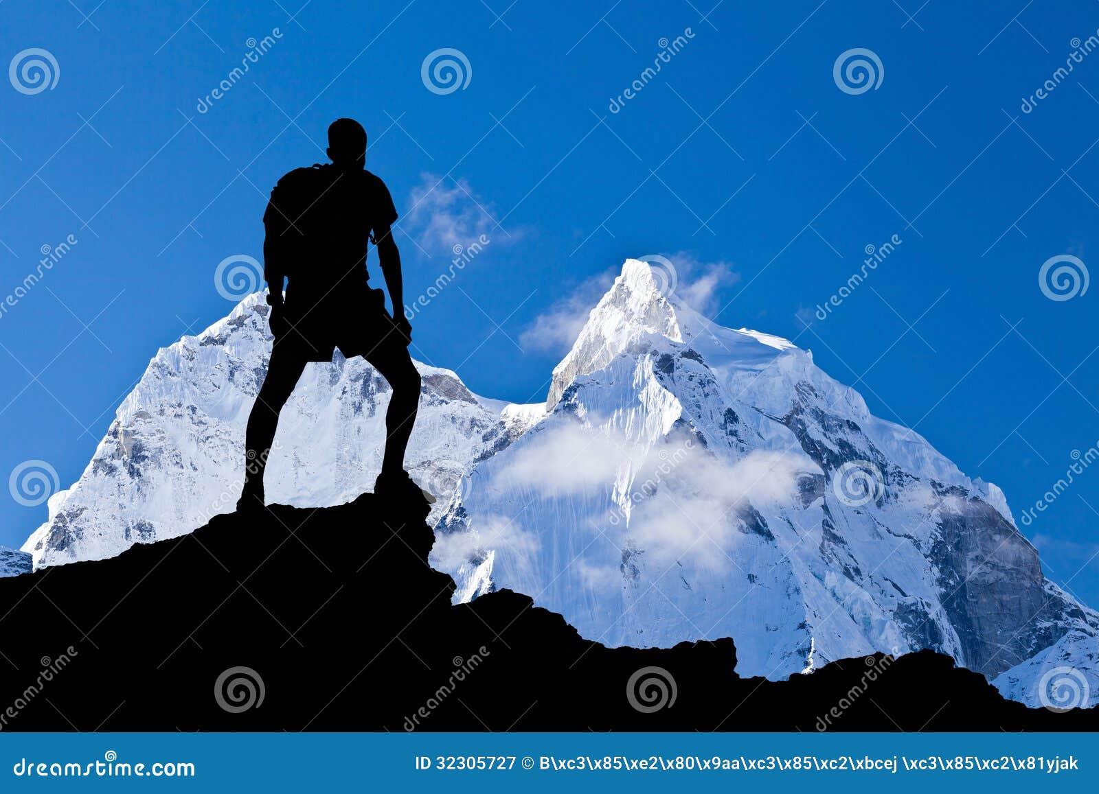 喜马拉雅山风景,登上阿马Dablam