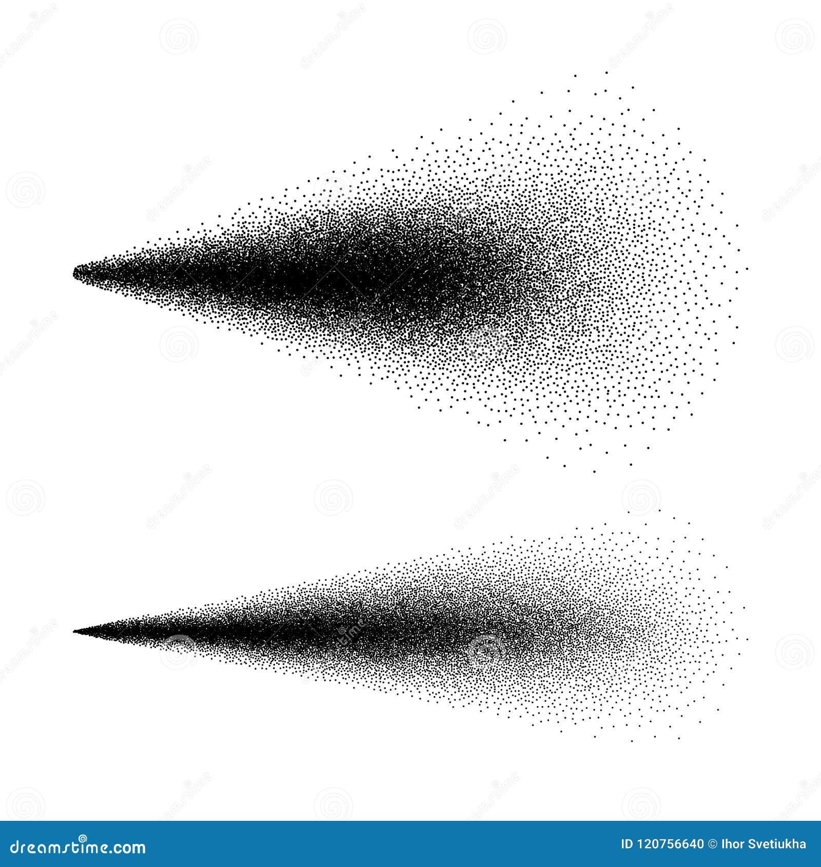 喷水化妆用品 浪花作用 在白色背景隔绝的雾浪花 也corel凹道例证向量