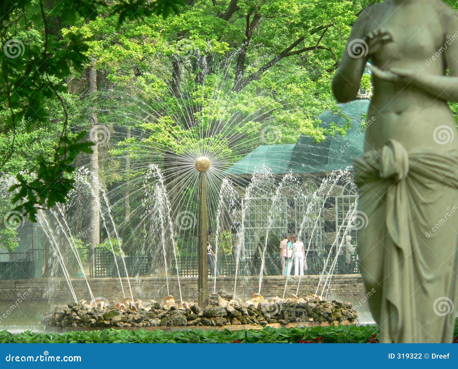 喷泉彼得斯堡