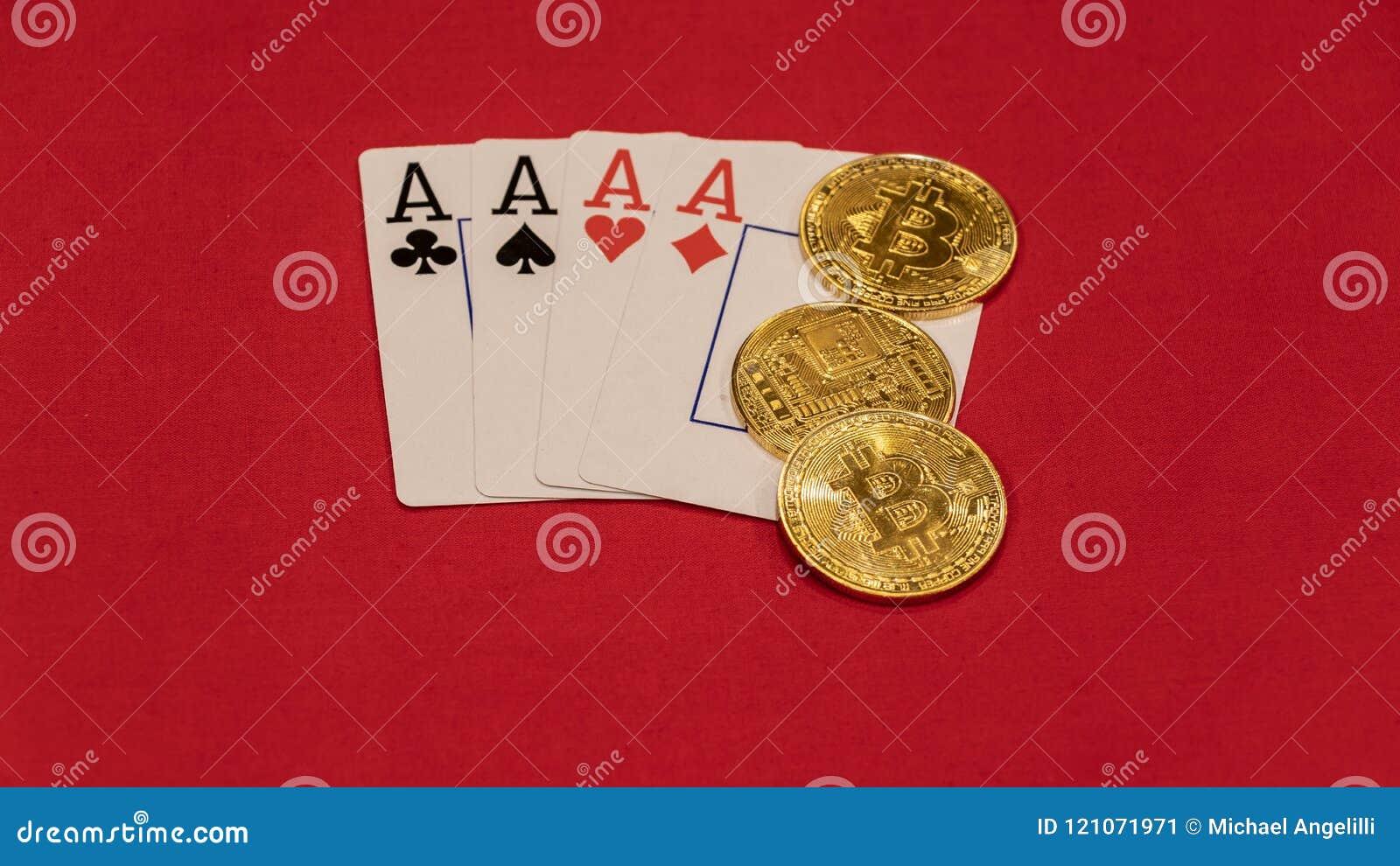 四一点有bitcoins的纸牌游戏手