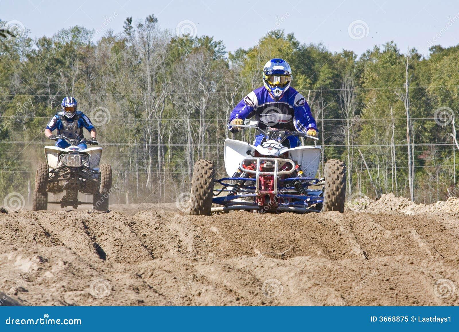 四次摩托车越野赛轮子