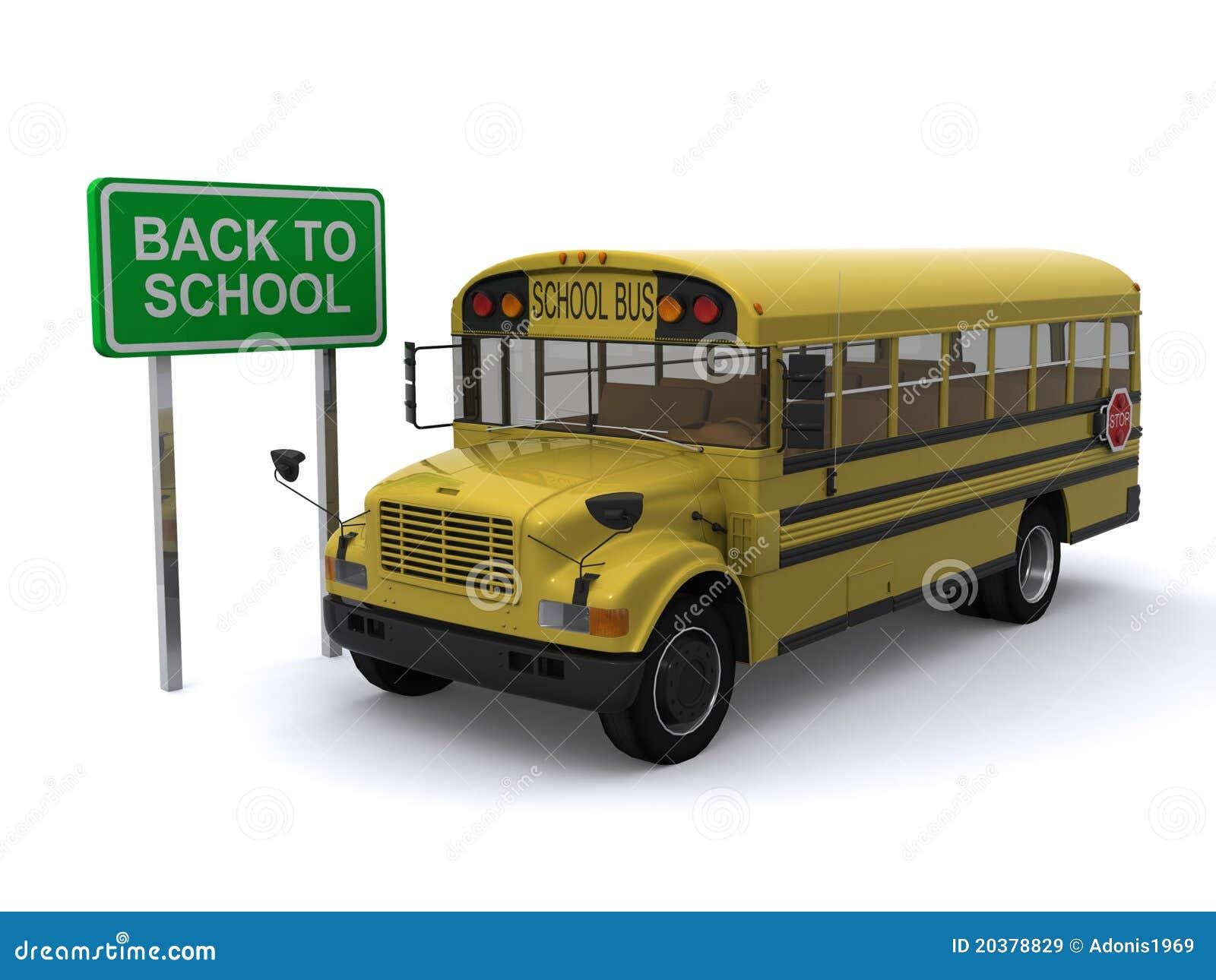 回到公共汽车学校