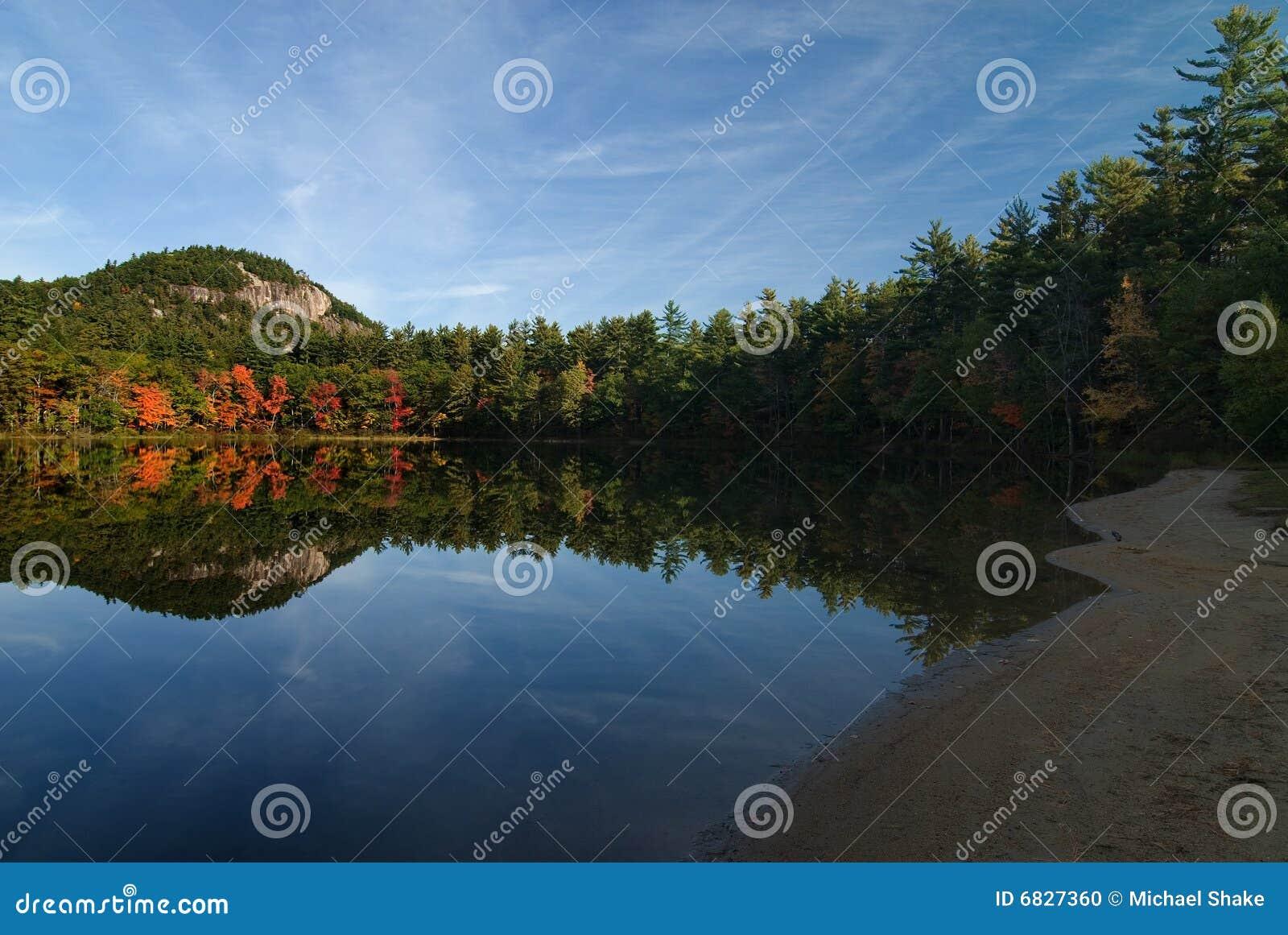 回声湖反映