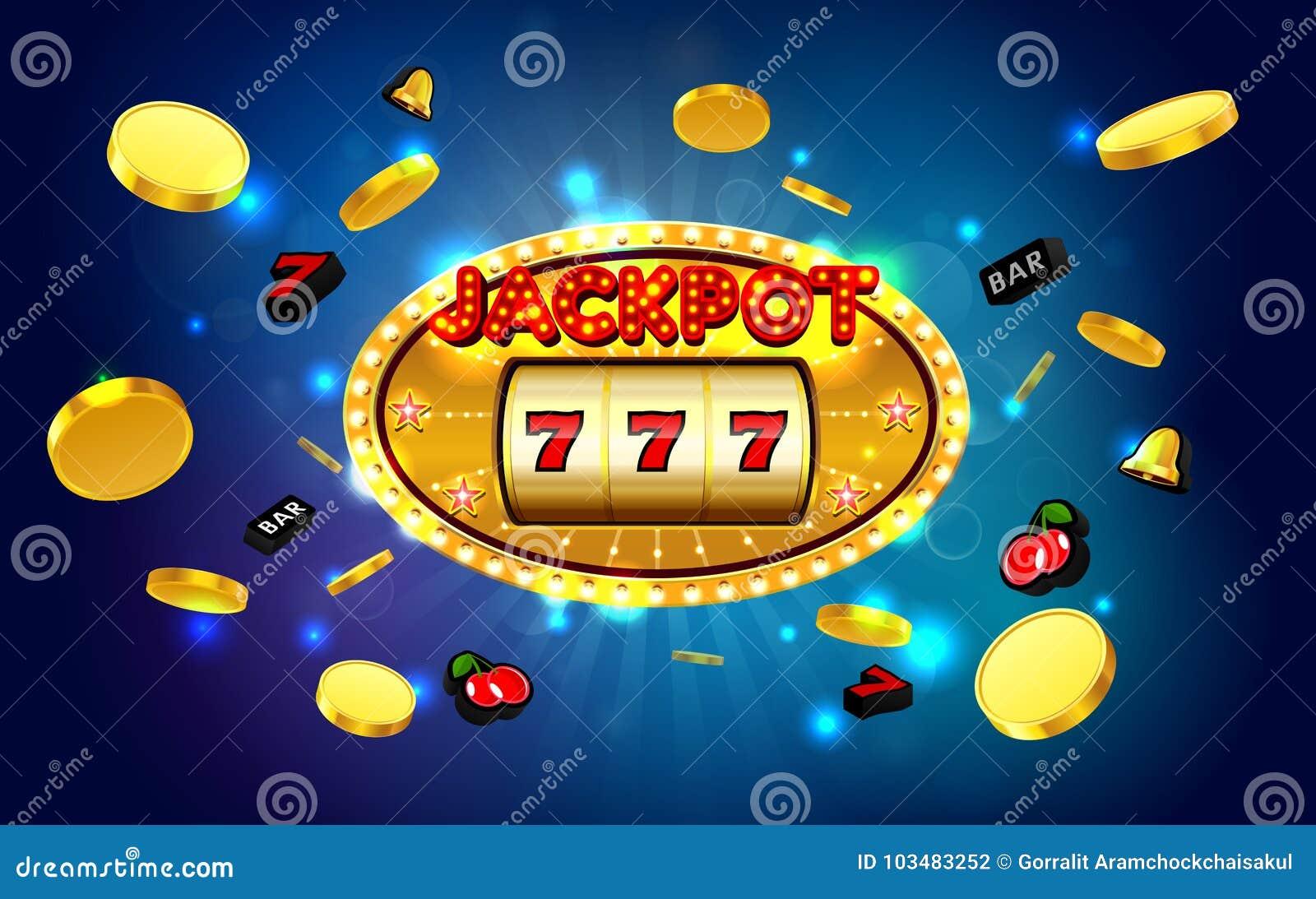 困境幸运的胜利金黄老虎机赌博娱乐场有轻的背景