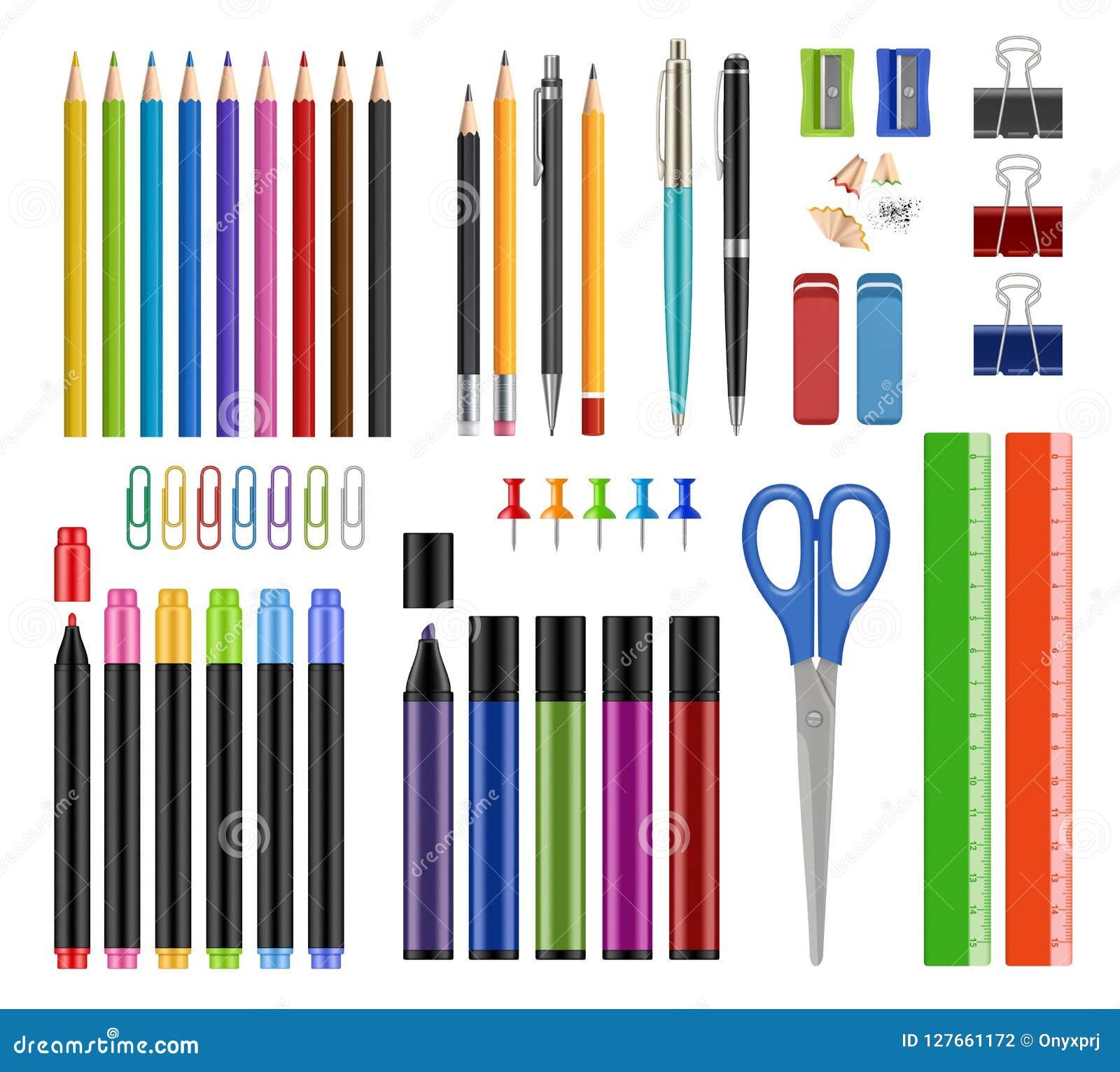 固定式收藏 笔铅笔削尖橡胶学校教育工具或办公用品项目导航现实