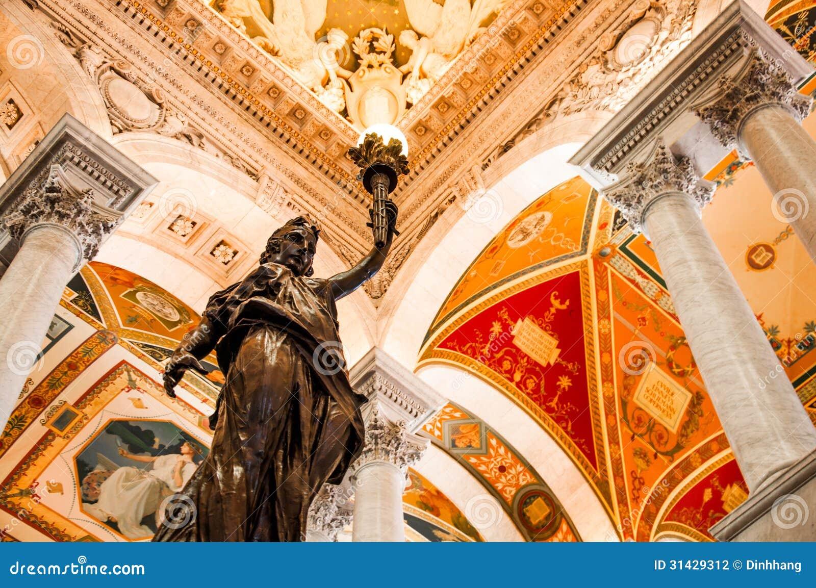 国会图书馆,华盛顿特区,美国