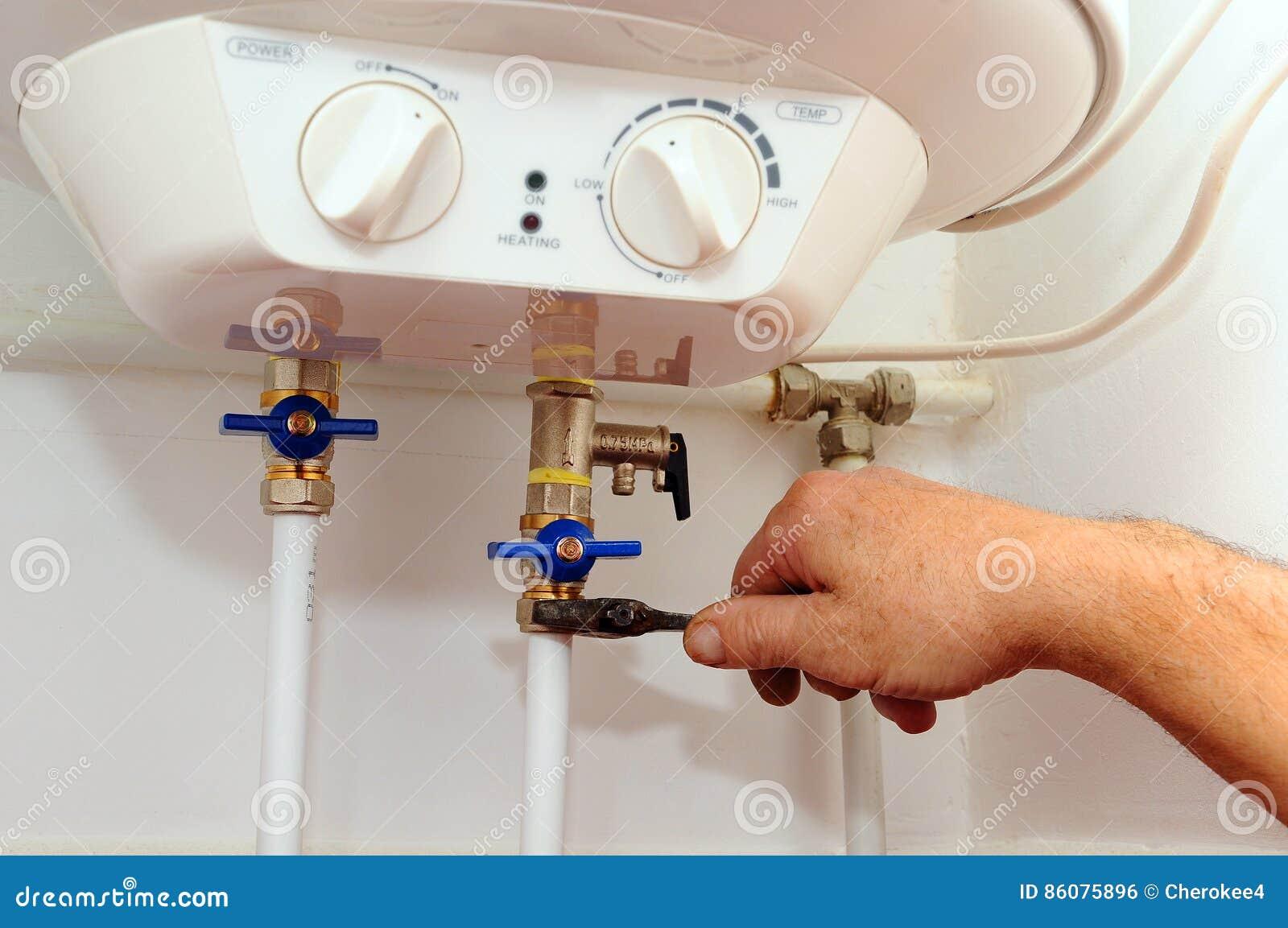 国内配管连接 家庭水加热器的连接 固定的电水加热器锅炉