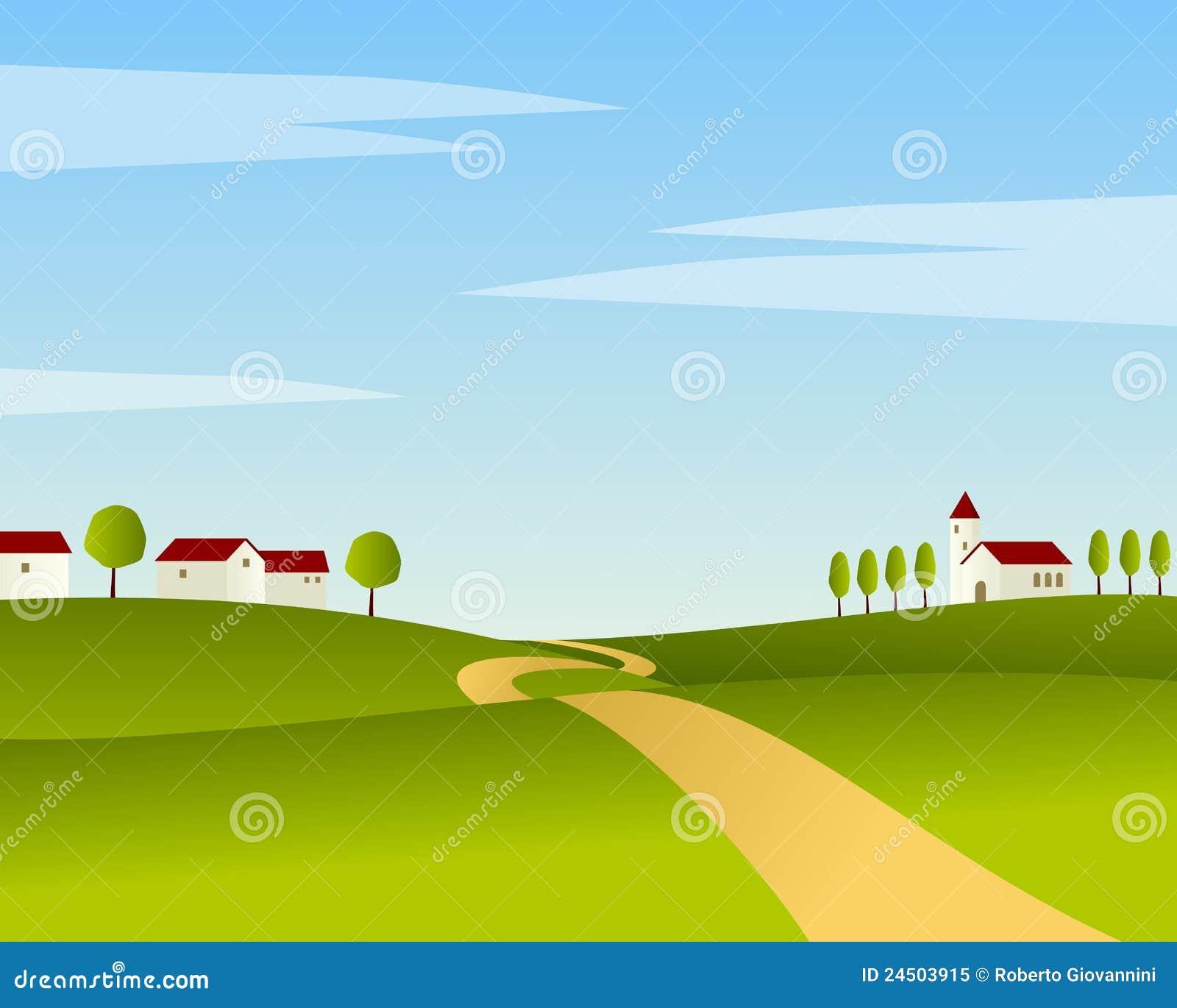 国家(地区)横向路夏天