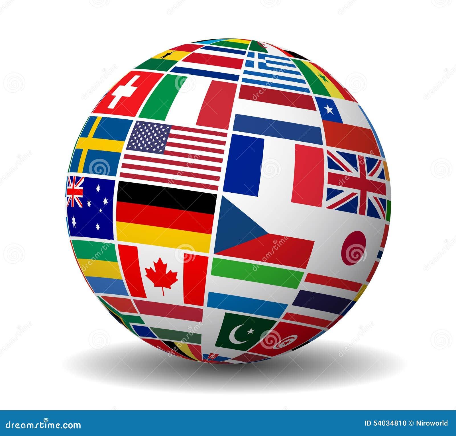 国际企业世界下垂地球