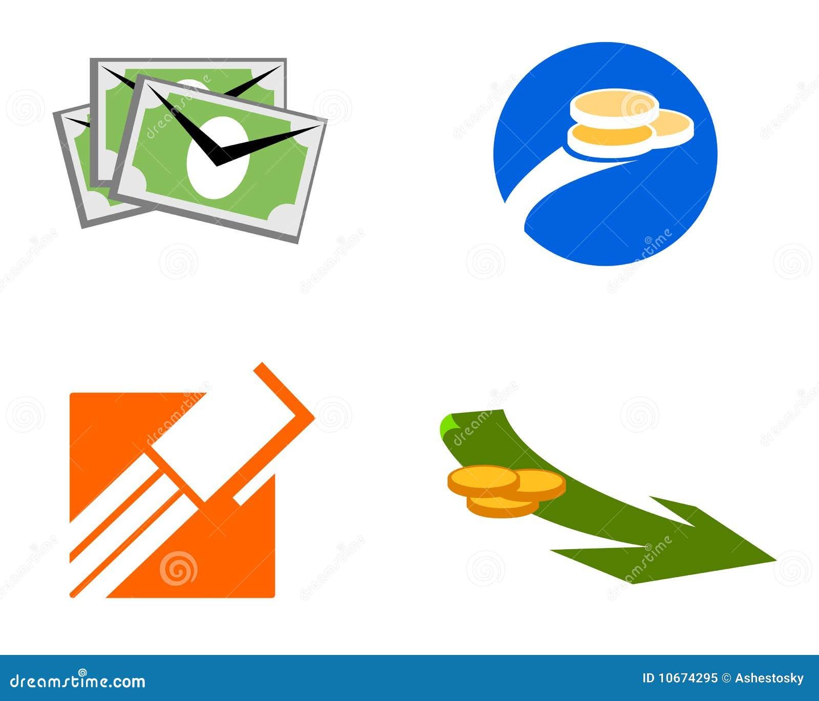 图标徽标货币贸易