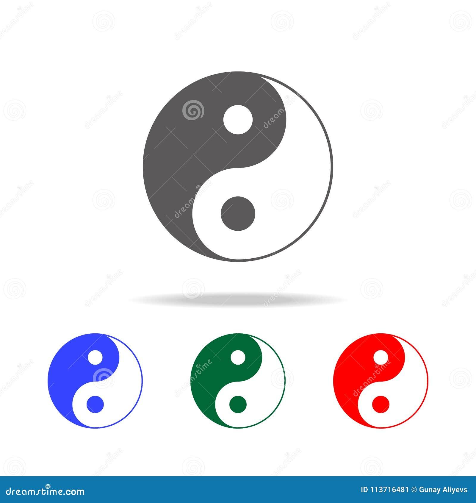 我淫我色最新网址_图标杨yin 中国文化多色的象的元素 优质质量图形设计