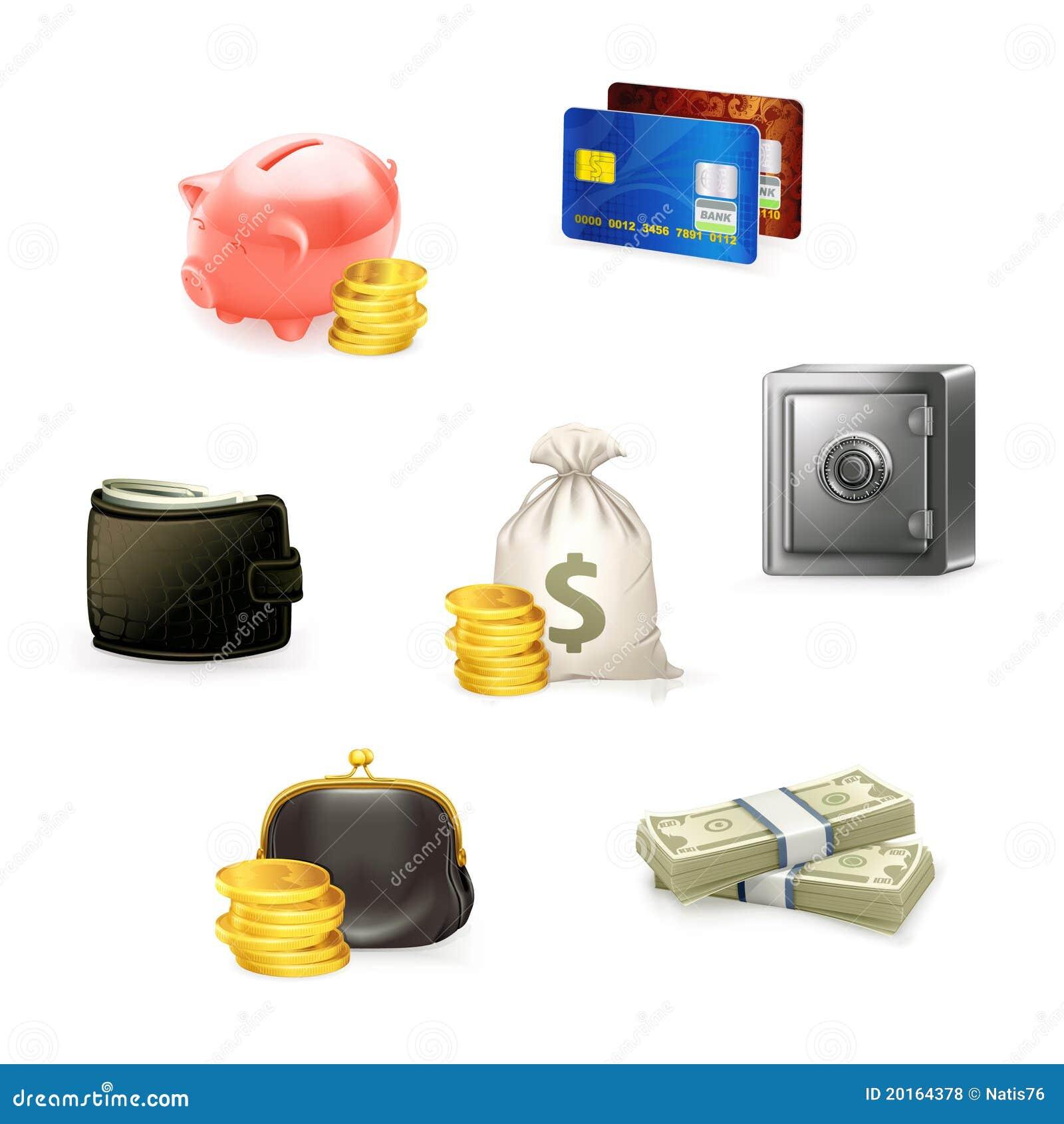 图标货币集
