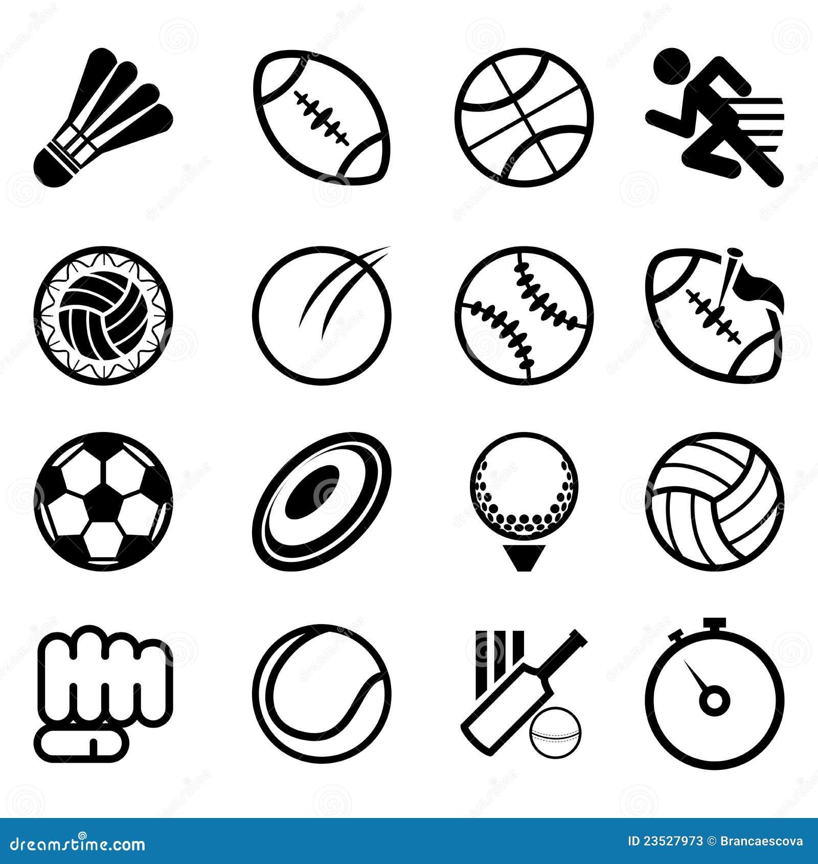 图标集合体育运动图片