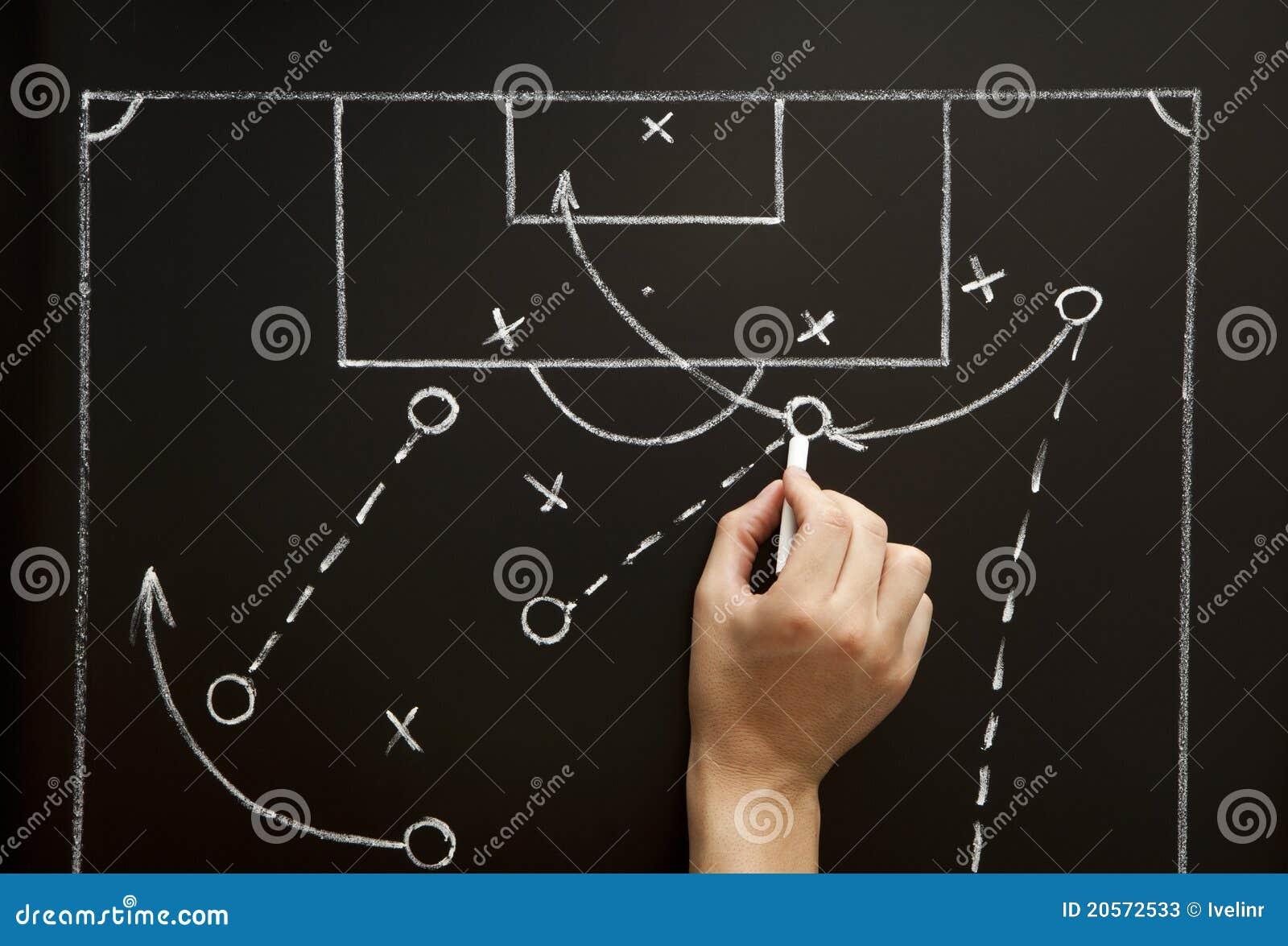 图画比赛人足球方法