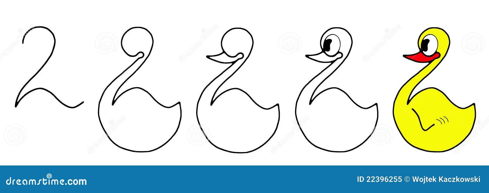 图画鸭子图片