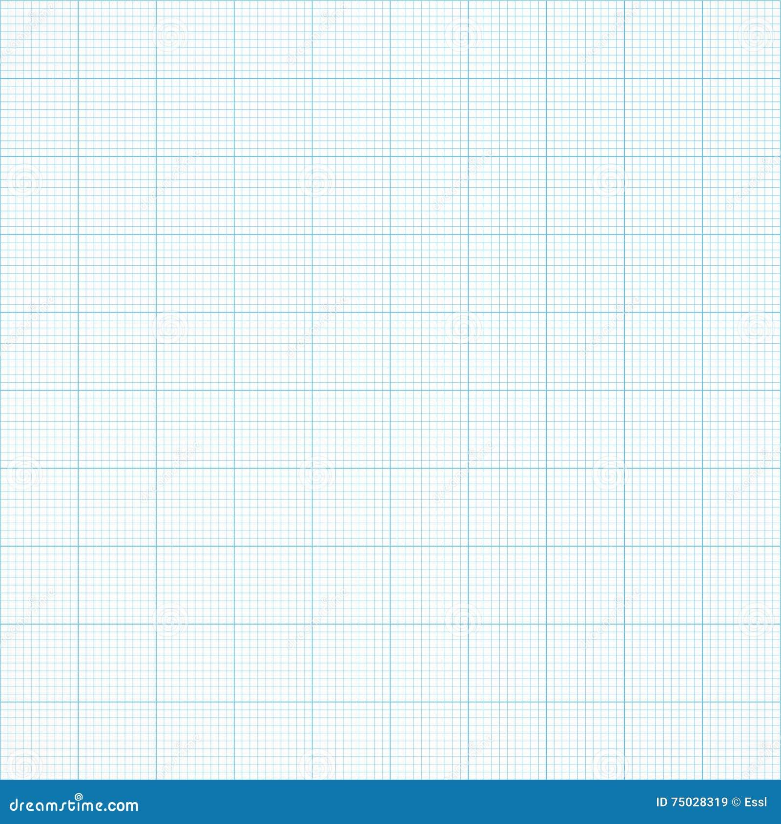 图表无缝的毫米栅格纸 传染媒介工程学背景