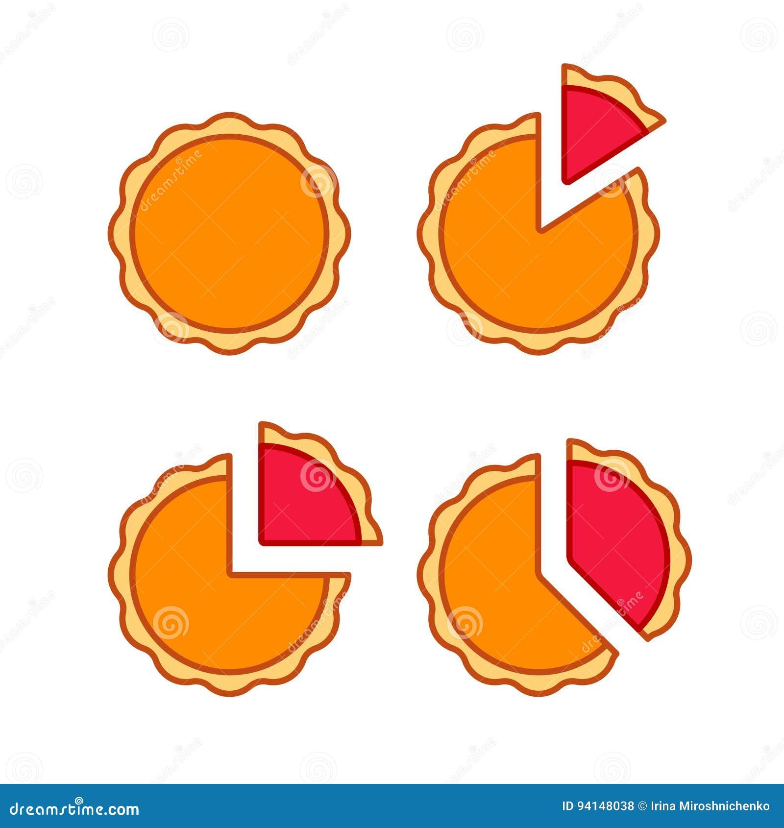 圆形统计图表集合
