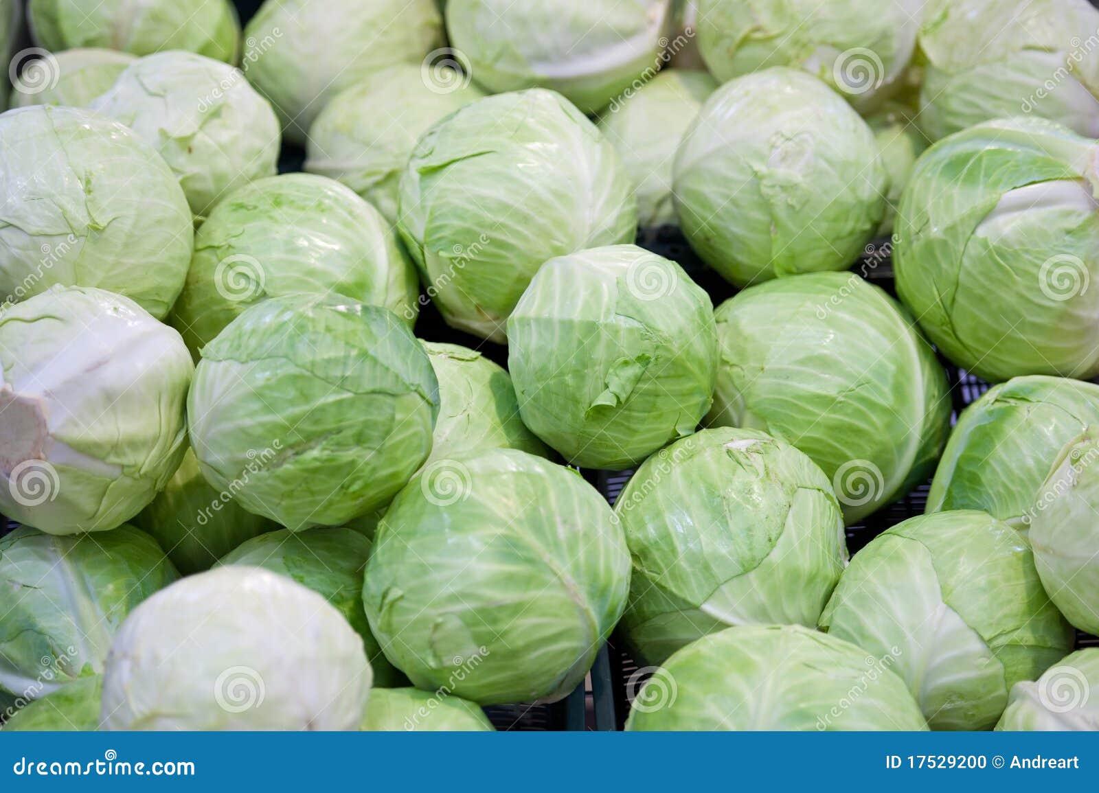 圆白菜绿色堆