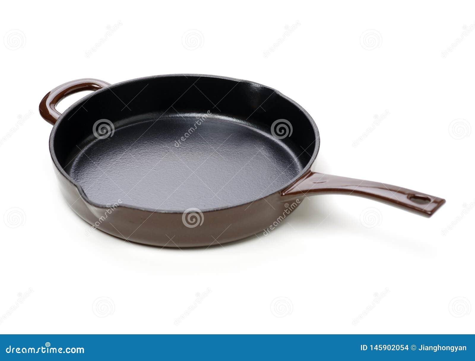 圆的生铁平板炉平底锅