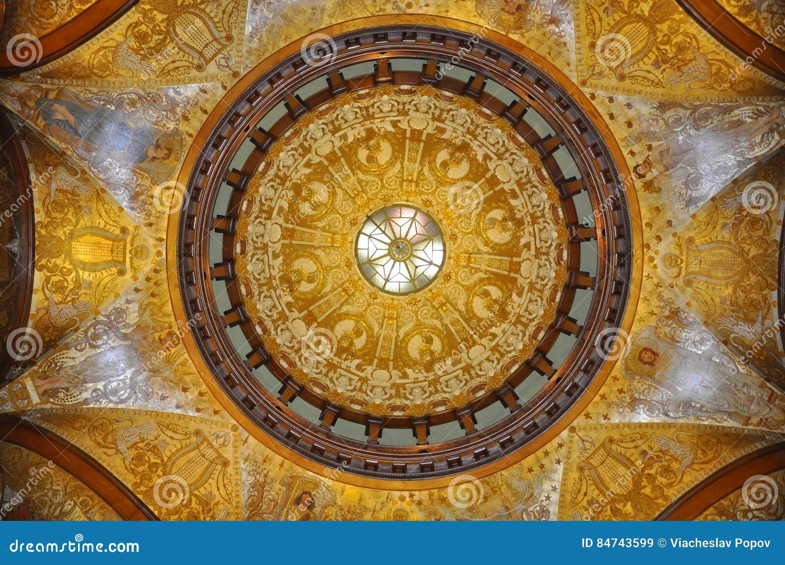 圆顶的绘画