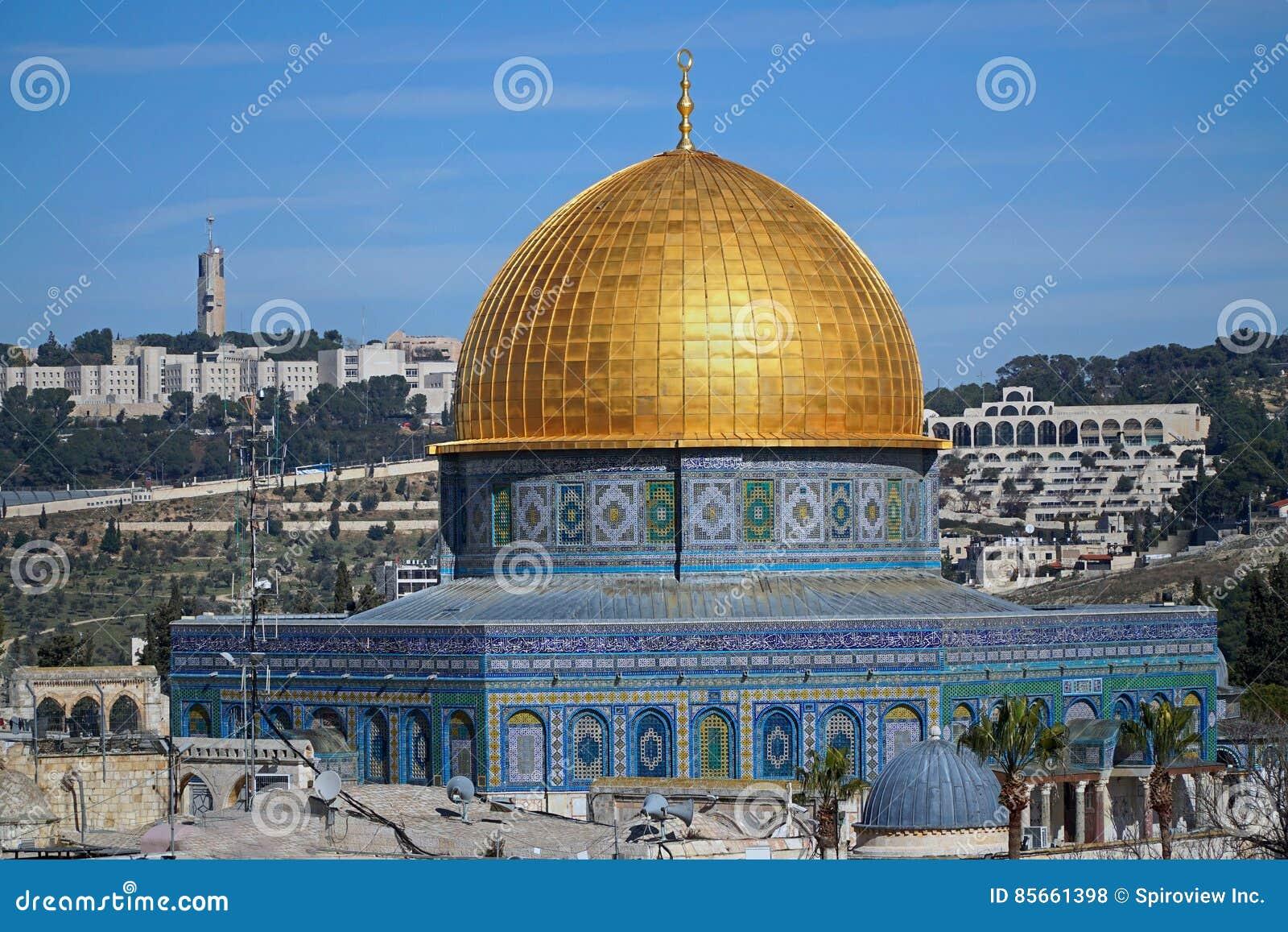 圆顶耶路撒冷岩石