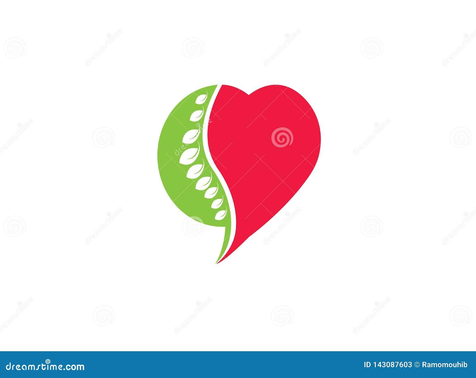 圈子球形医疗的商标设计的脊髓和心脏