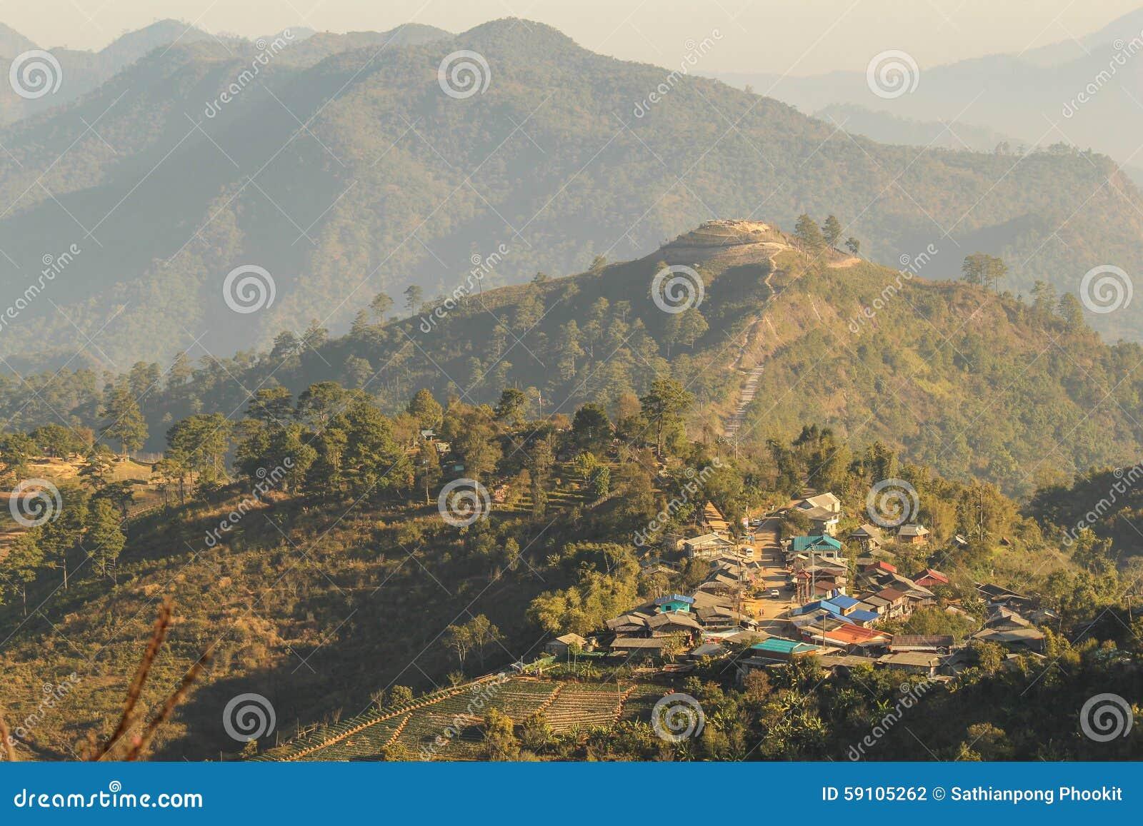 土井Angkhang山chiangmai泰国