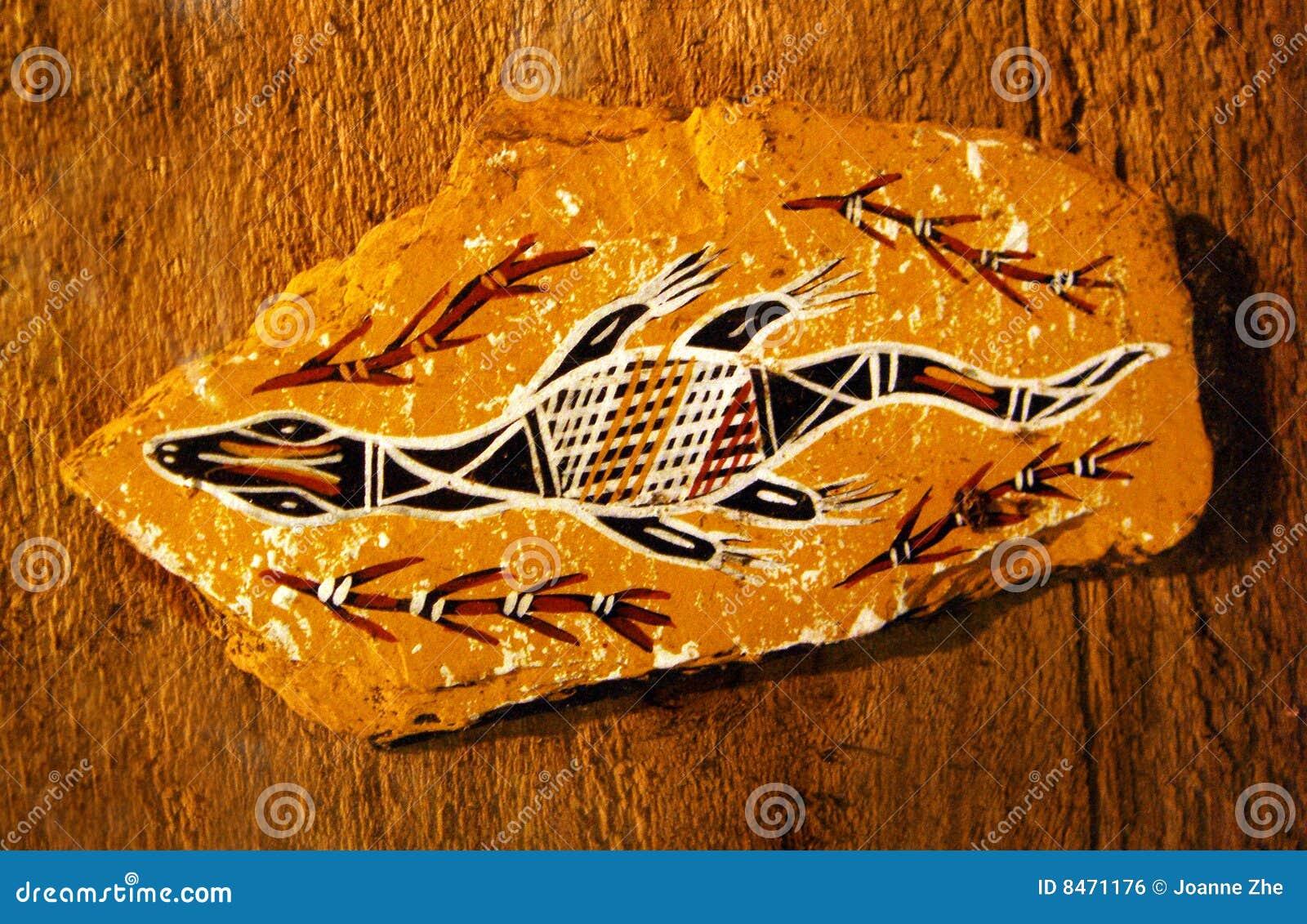 土人艺术部族澳洲的图画