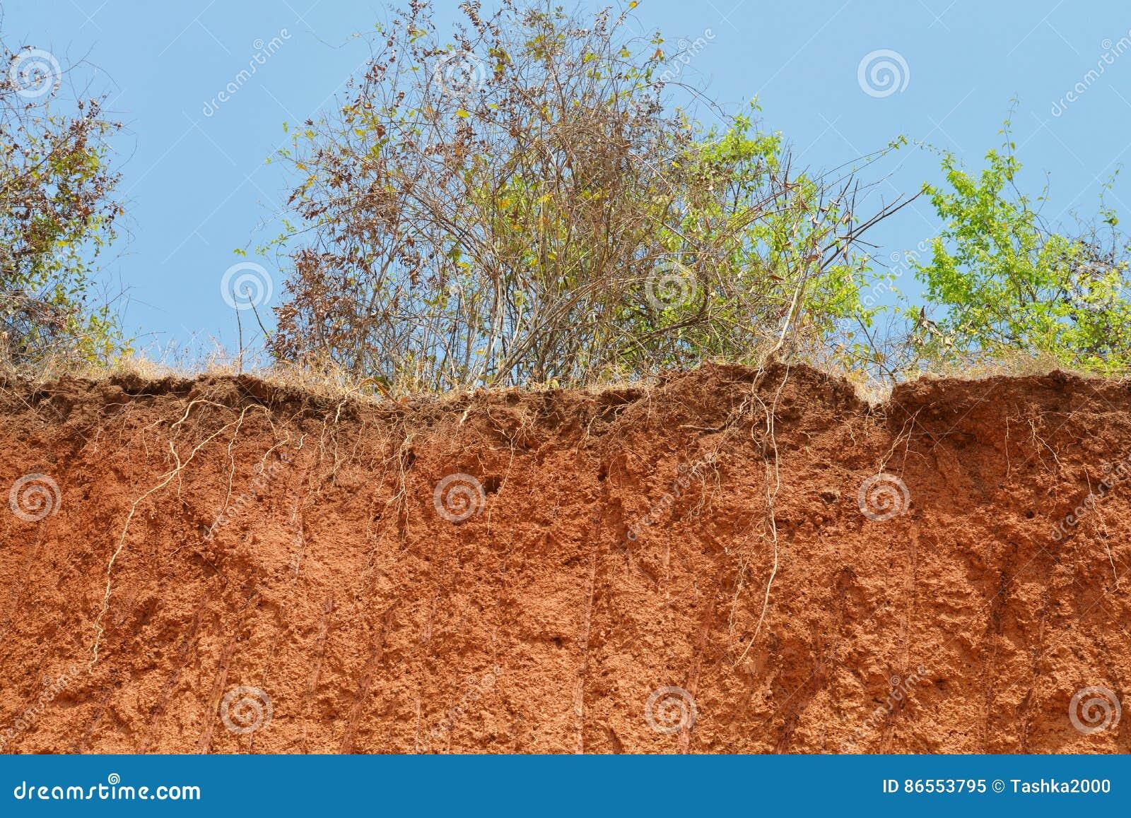 土壤层状裁减