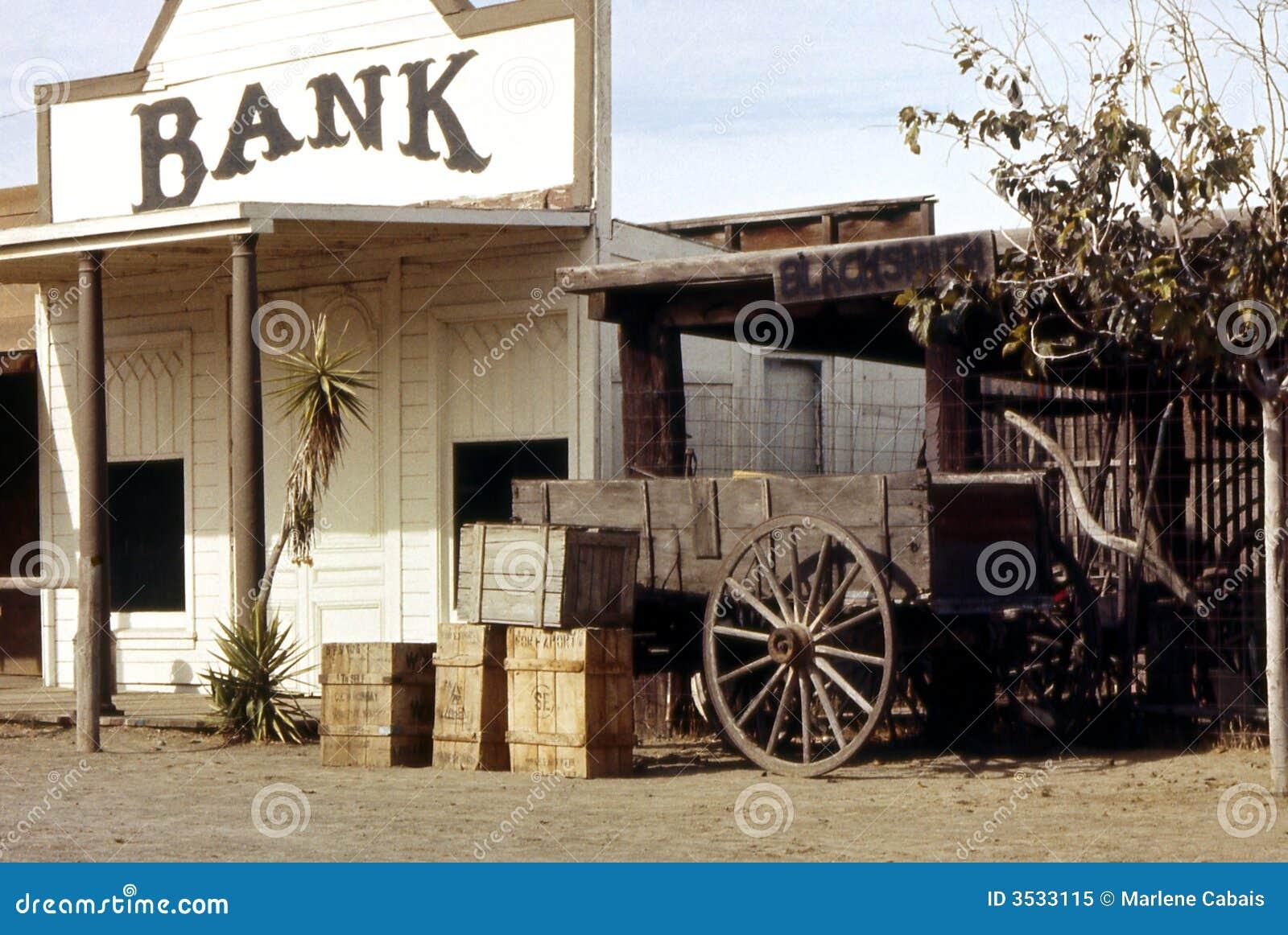 土气的银行